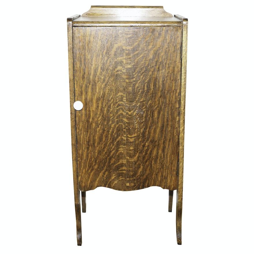 Antique Record Cabinet ... - Antique Record Cabinet : EBTH