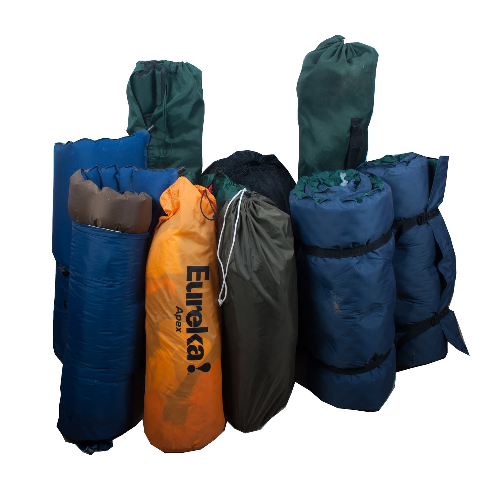Grouping of Camping Equipment