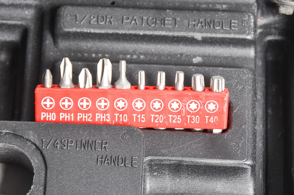 Ratchet Set Charger And Drill Ebth