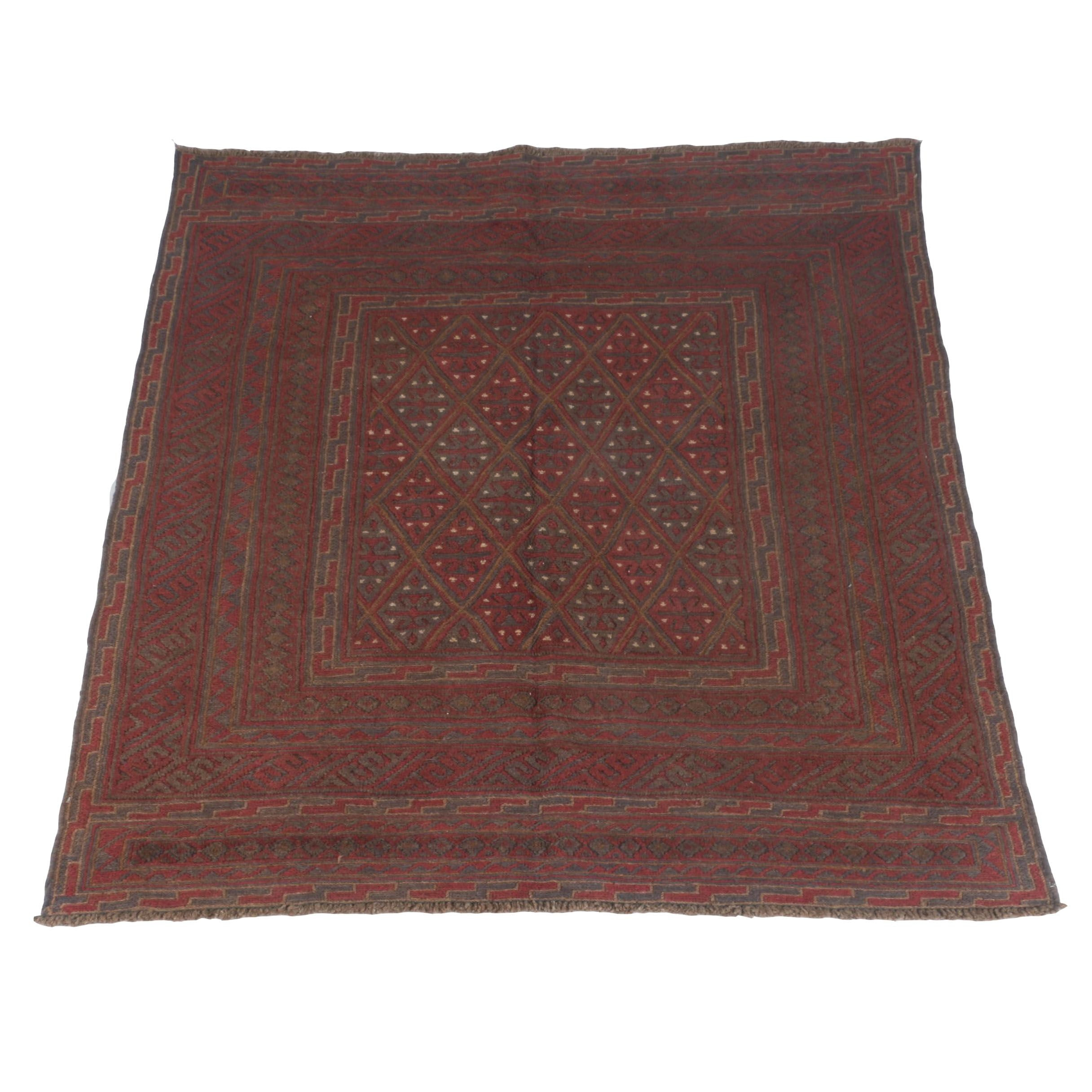 PRIORITY-Hand-Knotted Baluch Area Rug