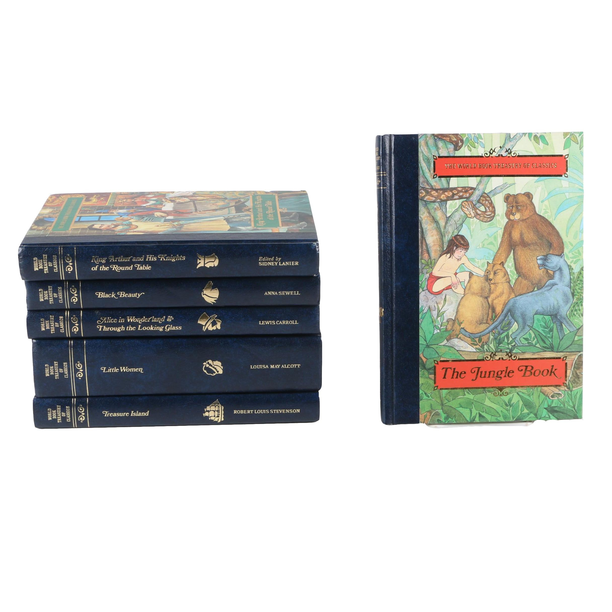 """Treasury of Classics"" Vintage Children Books"