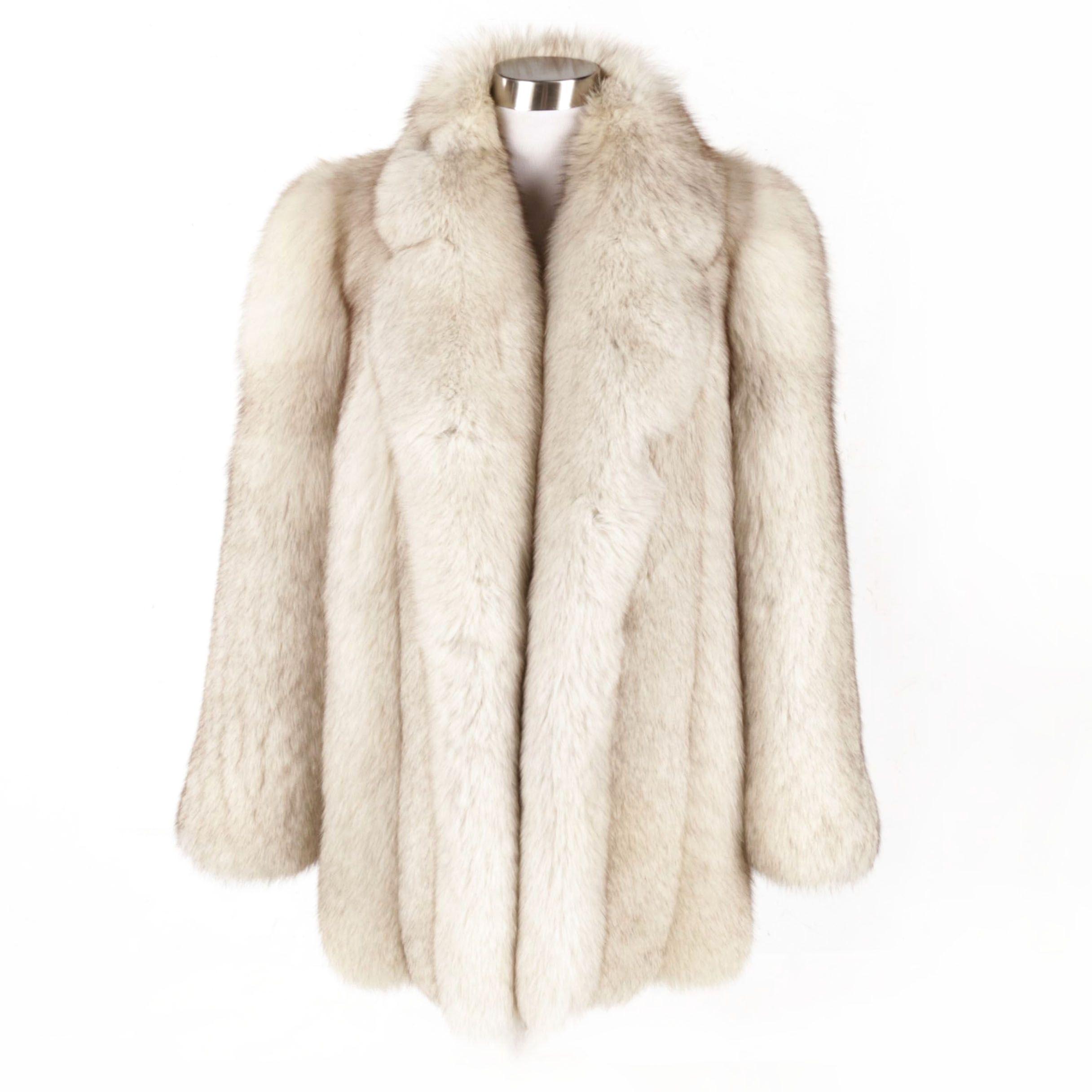 Women's Vintage Bill Blass Furs Fox Fur Coat