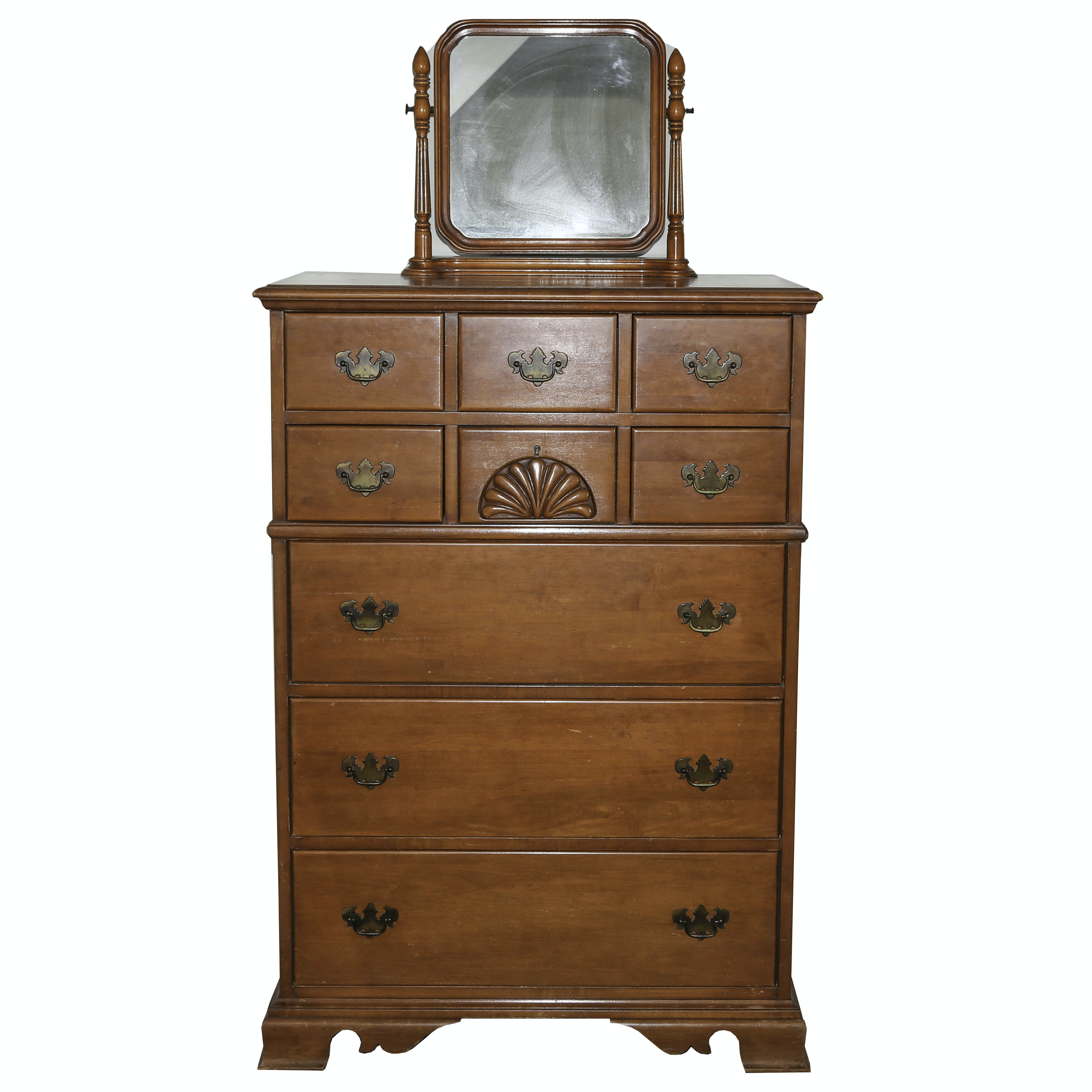Mirrored Dresser by Triangle Fine Furniture Company