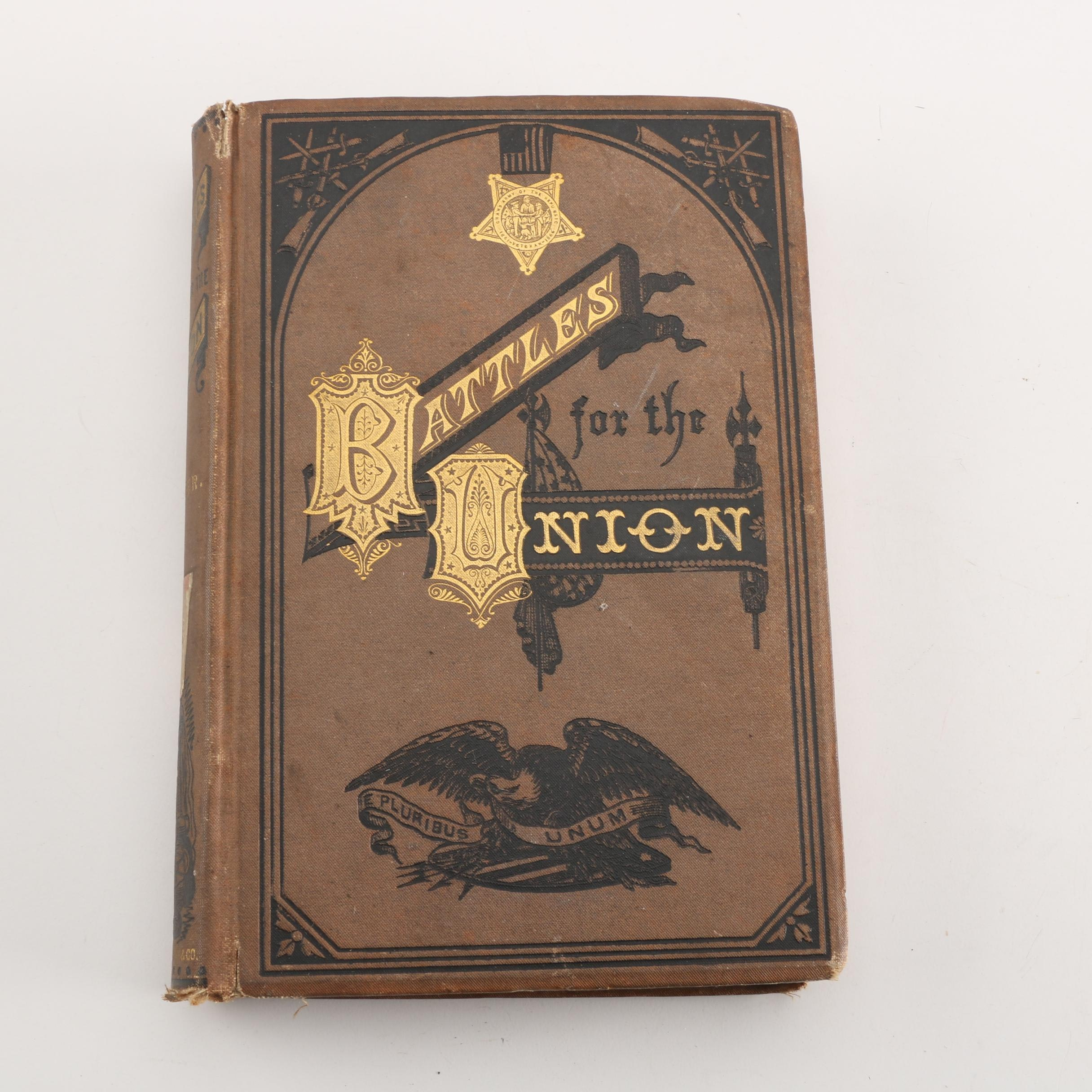"1878 ""Battles for the Union"" by Captain Willard Glazier"