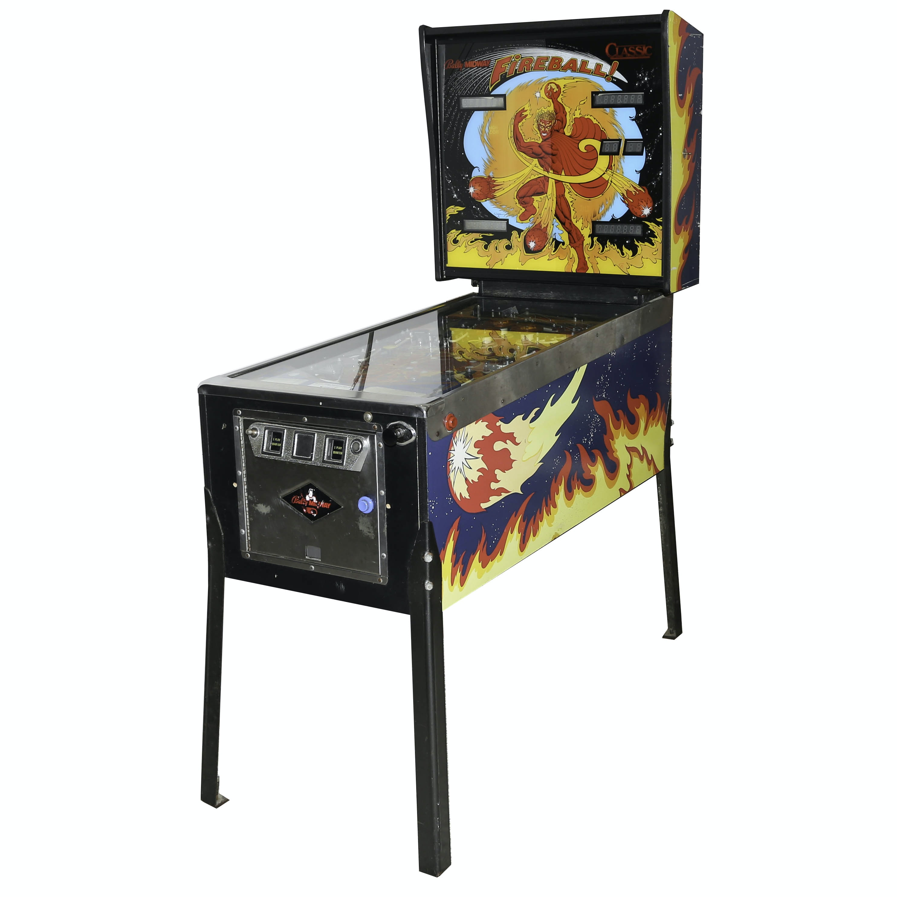 "Bally Midway ""Fireball Classic"" Pinball Machine"