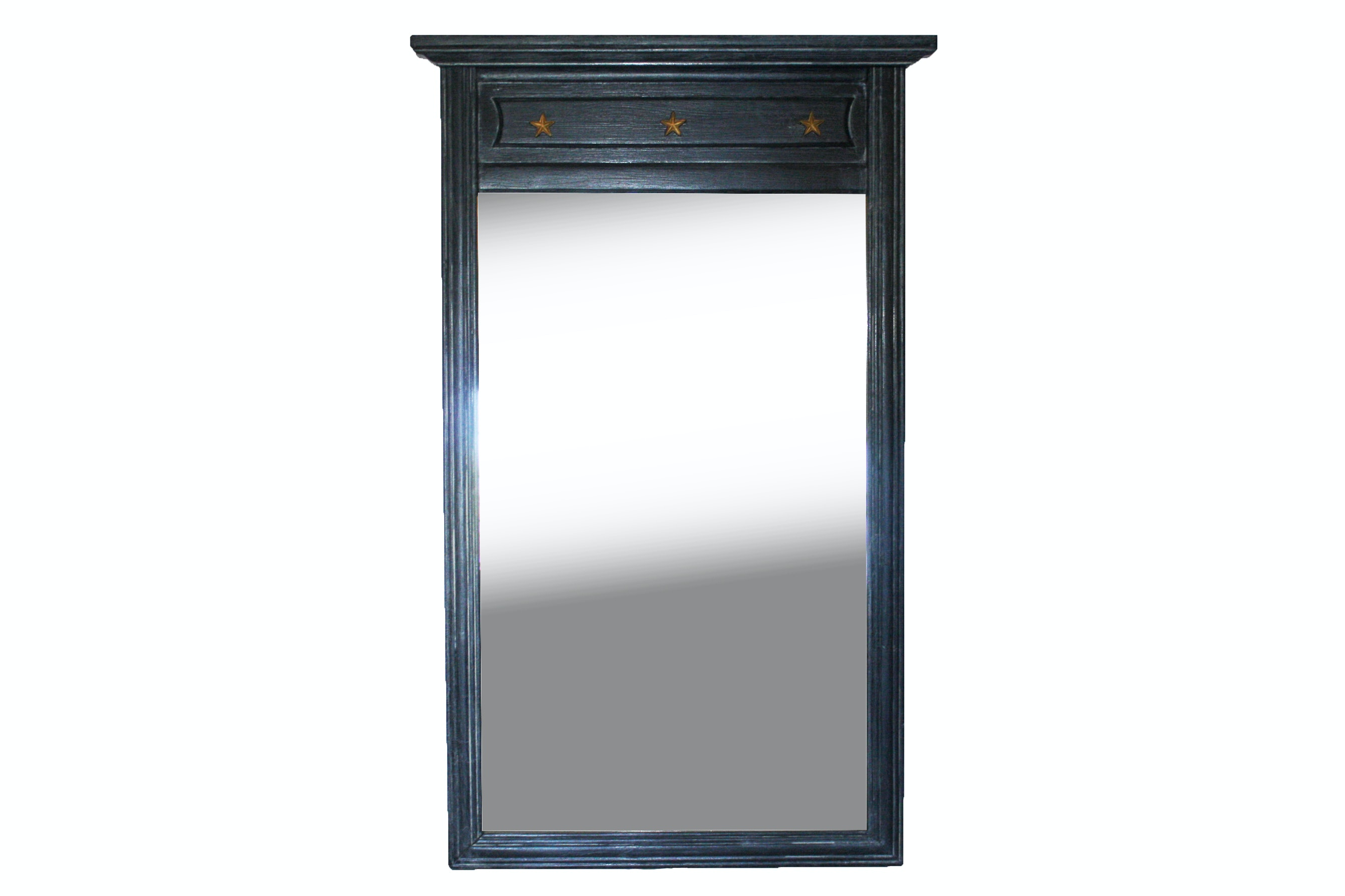 Neo-Classical Style Painted Wall Mirror