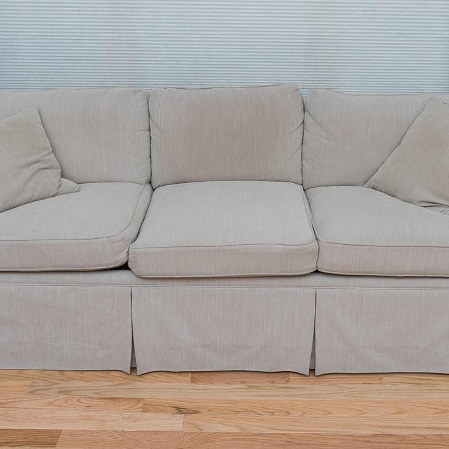 Carlyle Tan Sleeper Sofa