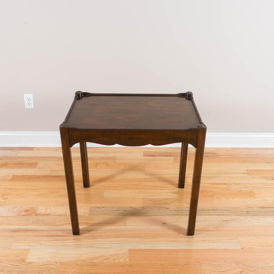 Vintage Kittinger Furniture Tea Table Ebth