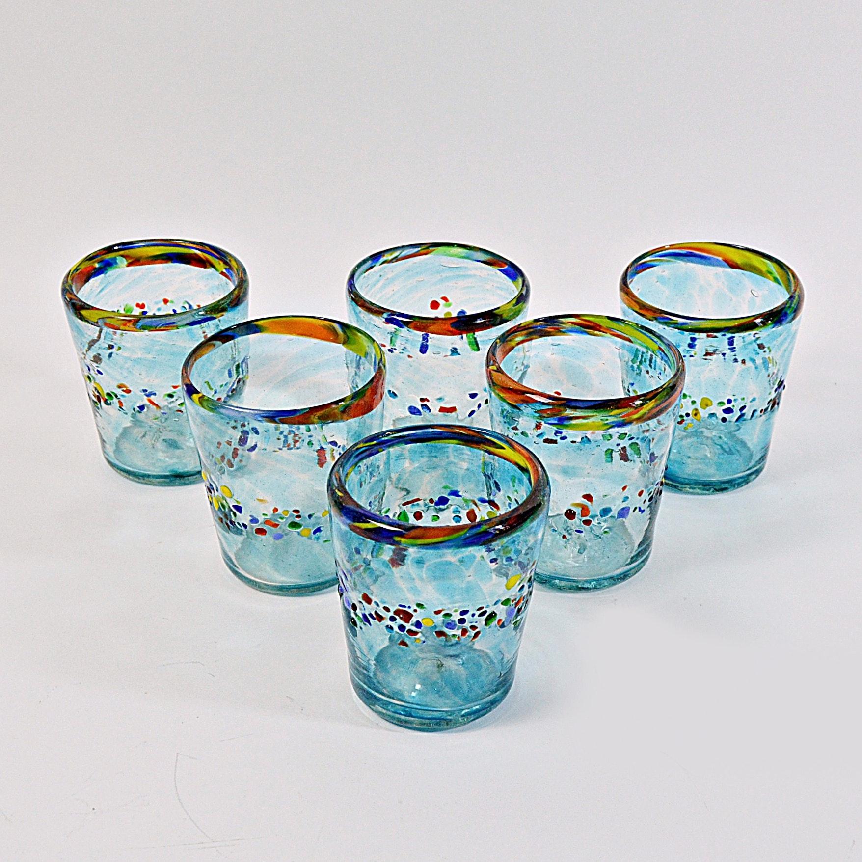 Handblown Old Fashioneds Glassware Set
