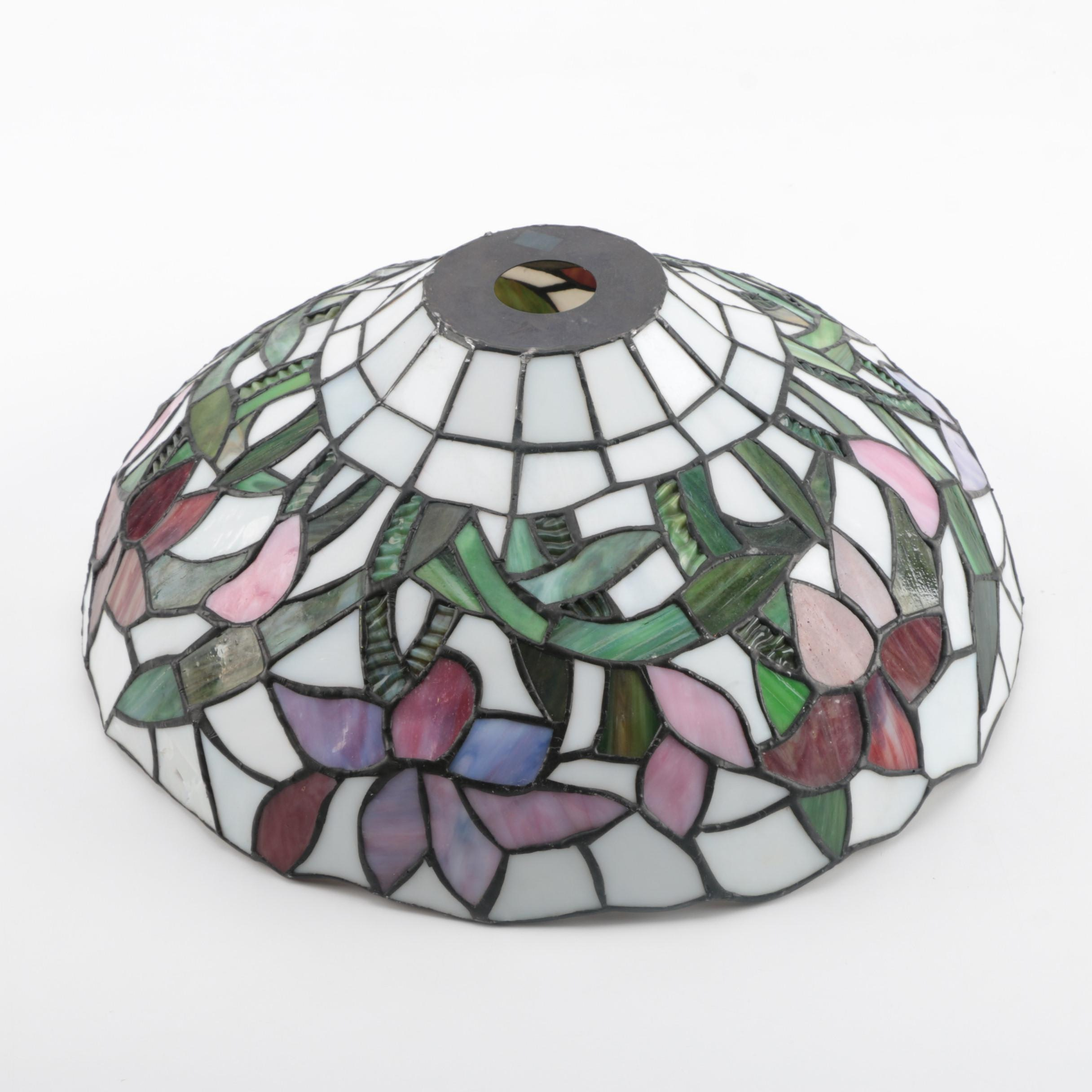 Tiffany Style Slag Glass Lamp Shade