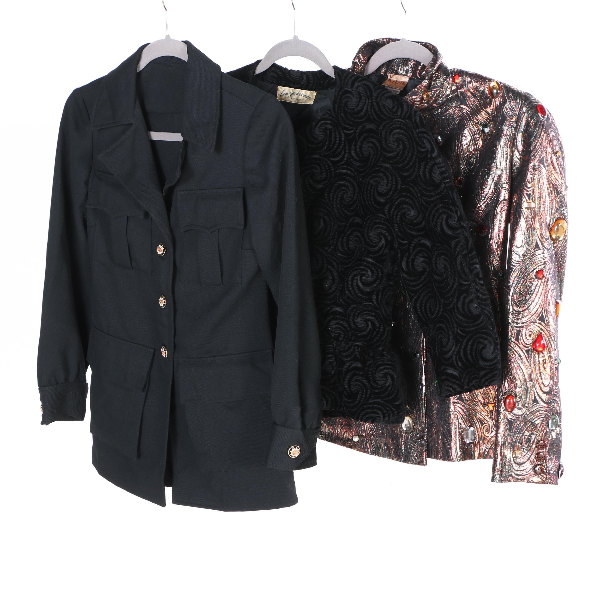 Women's Vintage Jackets Including Krizia