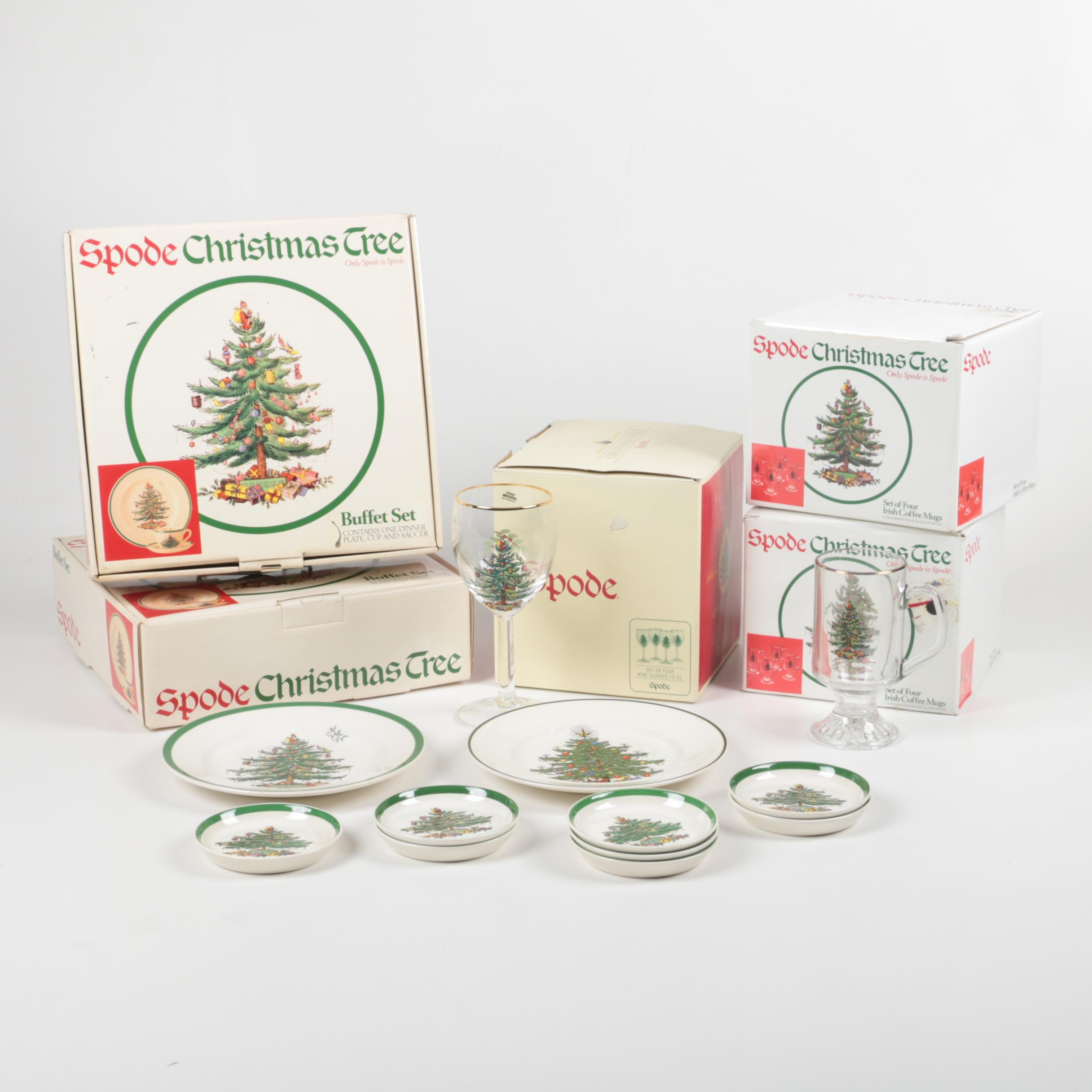 Spode Christmas Tree Glasses
