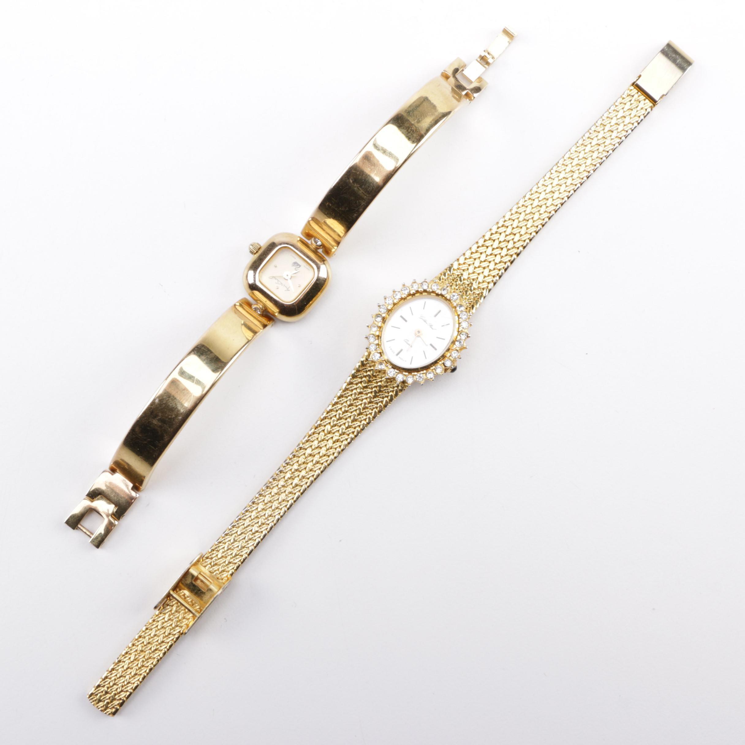 Gold Tone Wristwatches