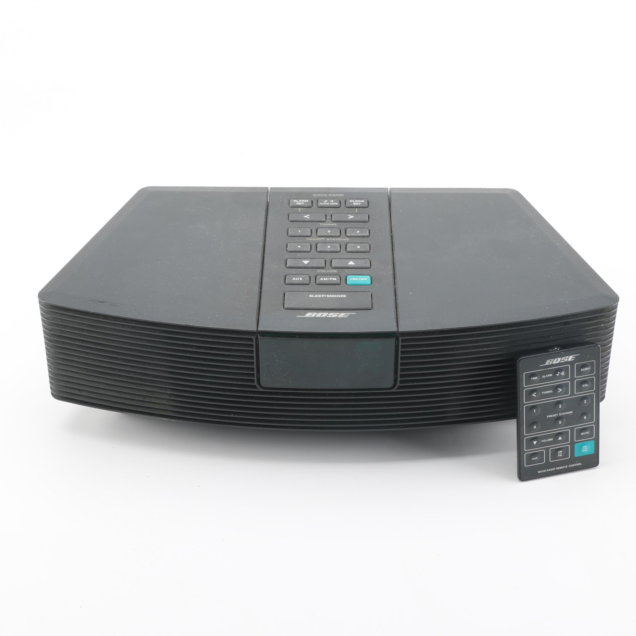 Bose Wave Alarm Clock Radio