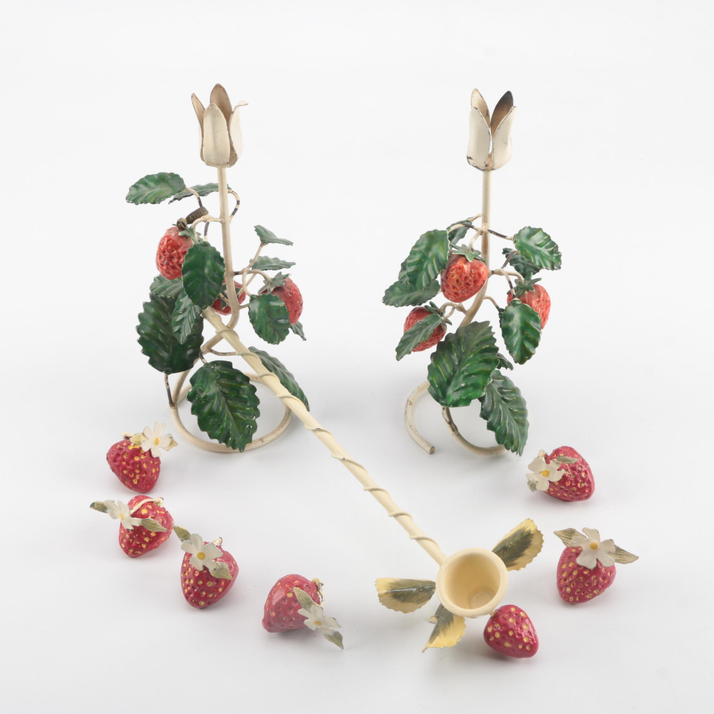Strawberry Themed Decor