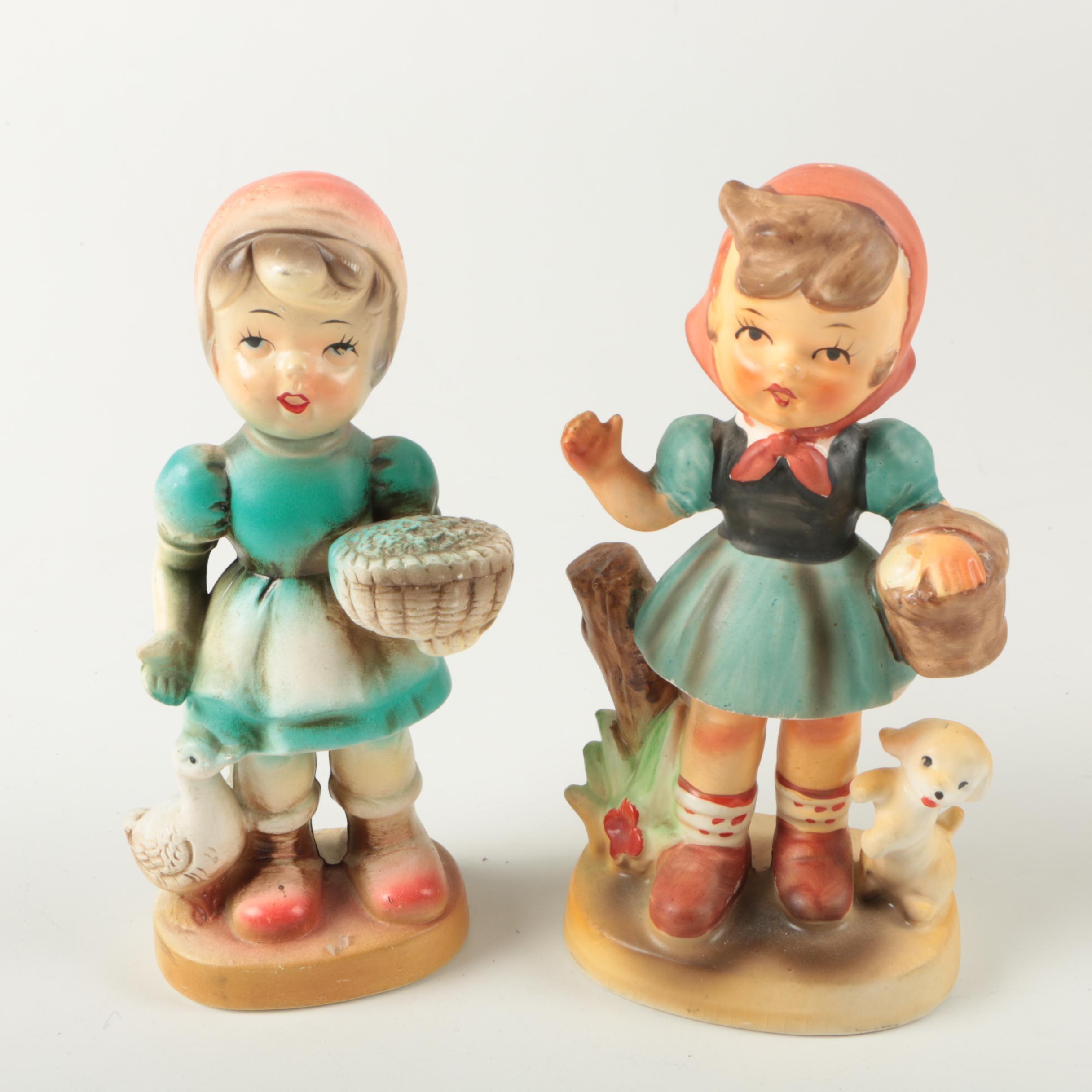 Hummel Style Figurines
