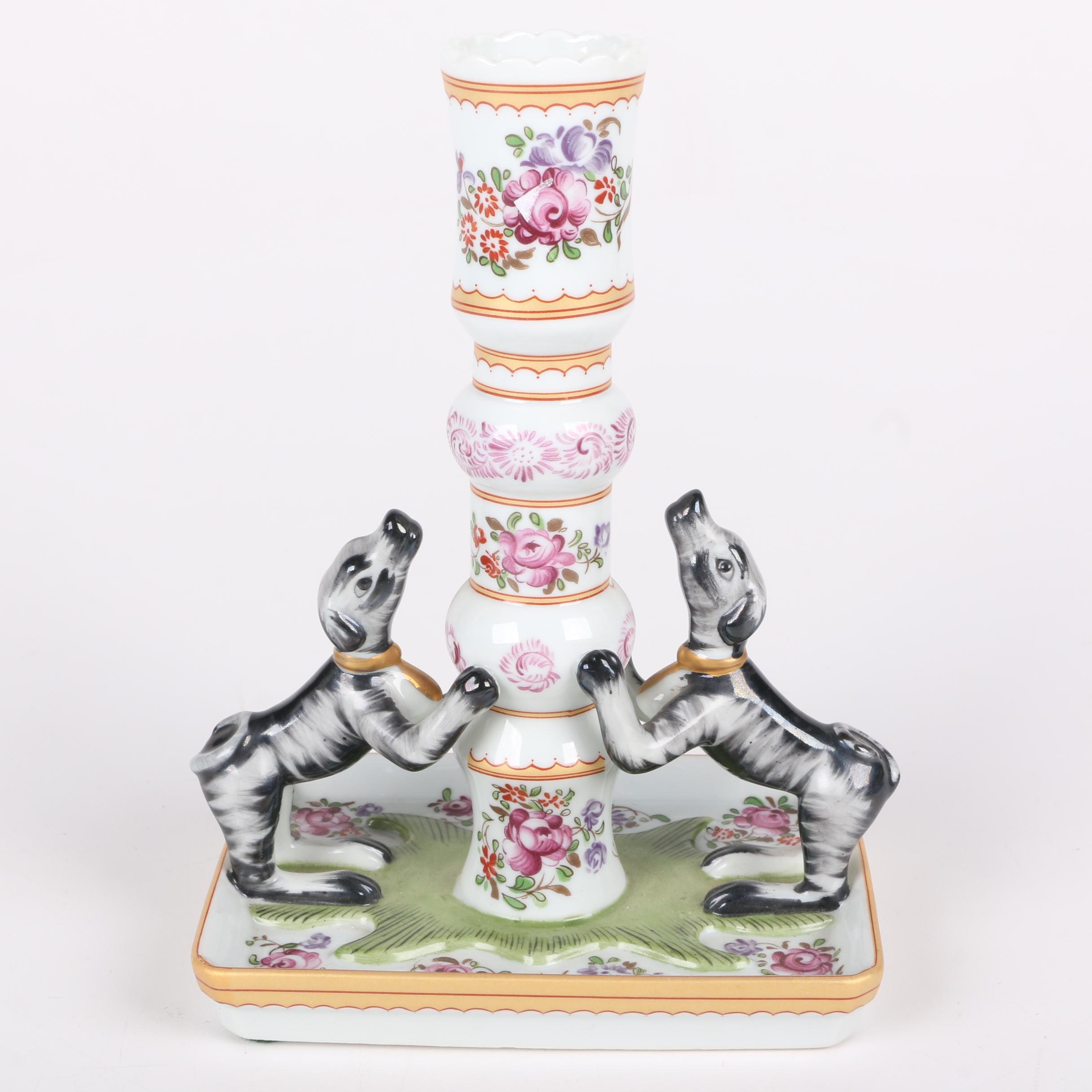 """Mottahedeh """"Sir Humphrey Wakefield Stately Homes"""" Collection Candle Holder"""