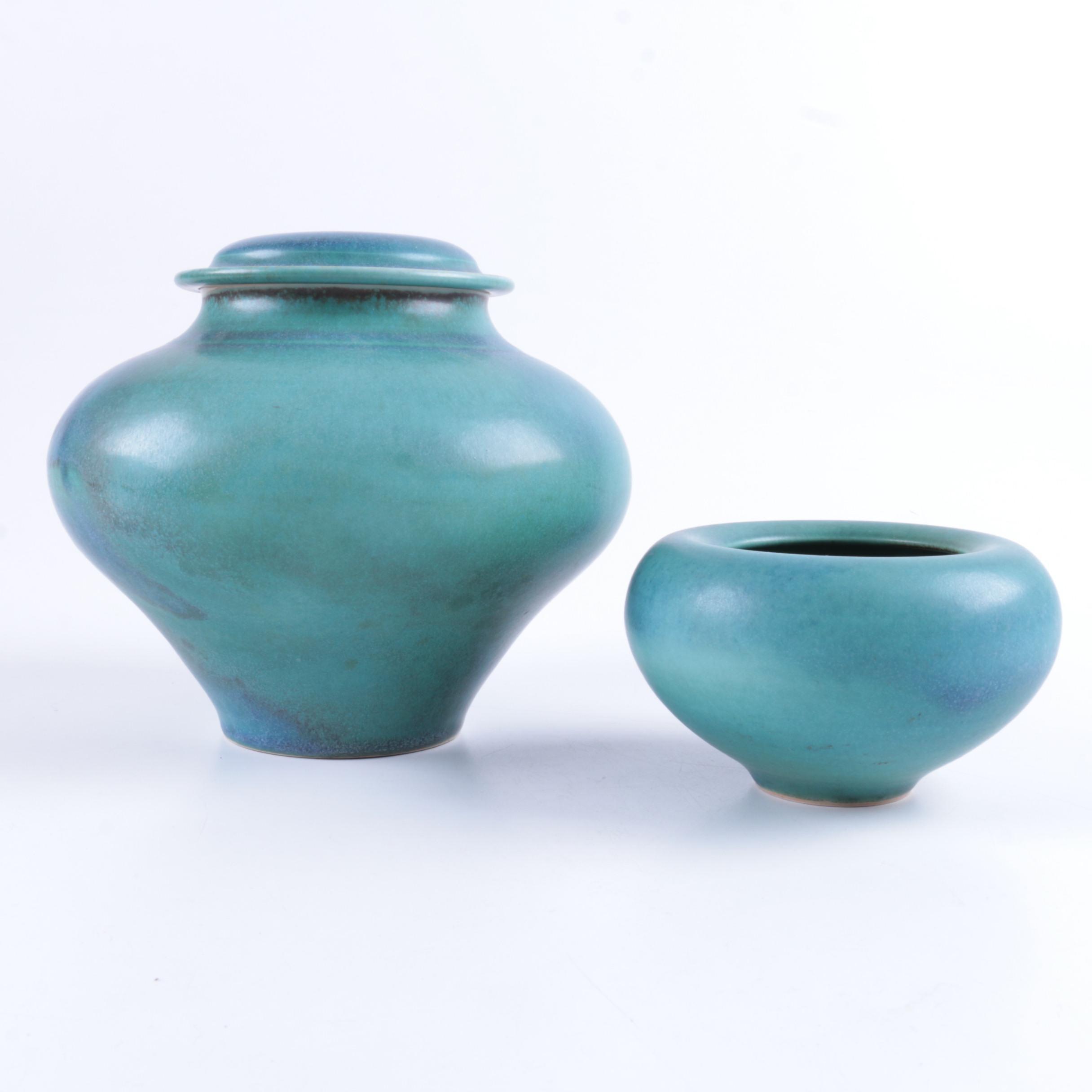 Hand Thrown Porcelain Vases