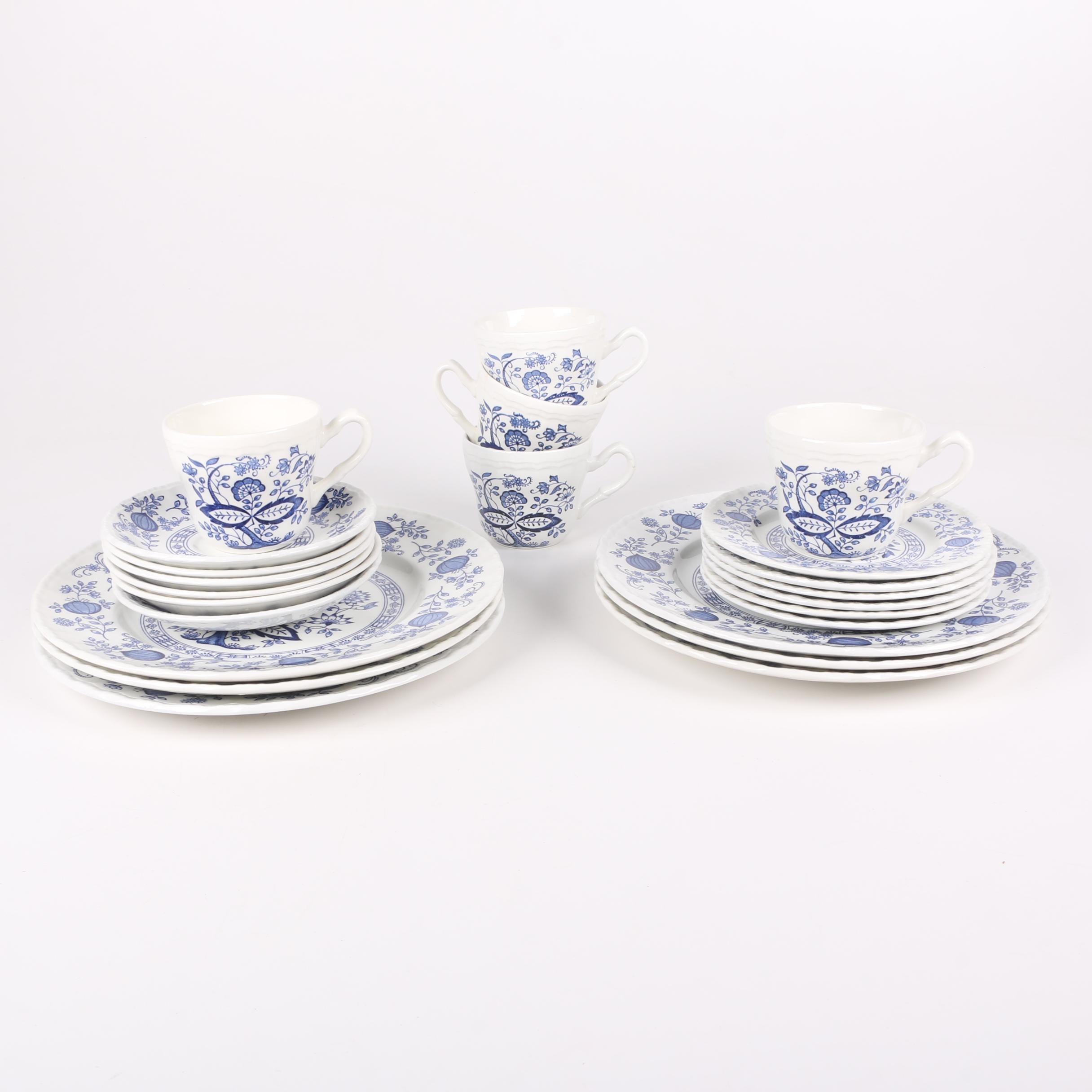"""Wedgwood """"Blue Heritage"""" Porcelain Tableware 1965-80"""
