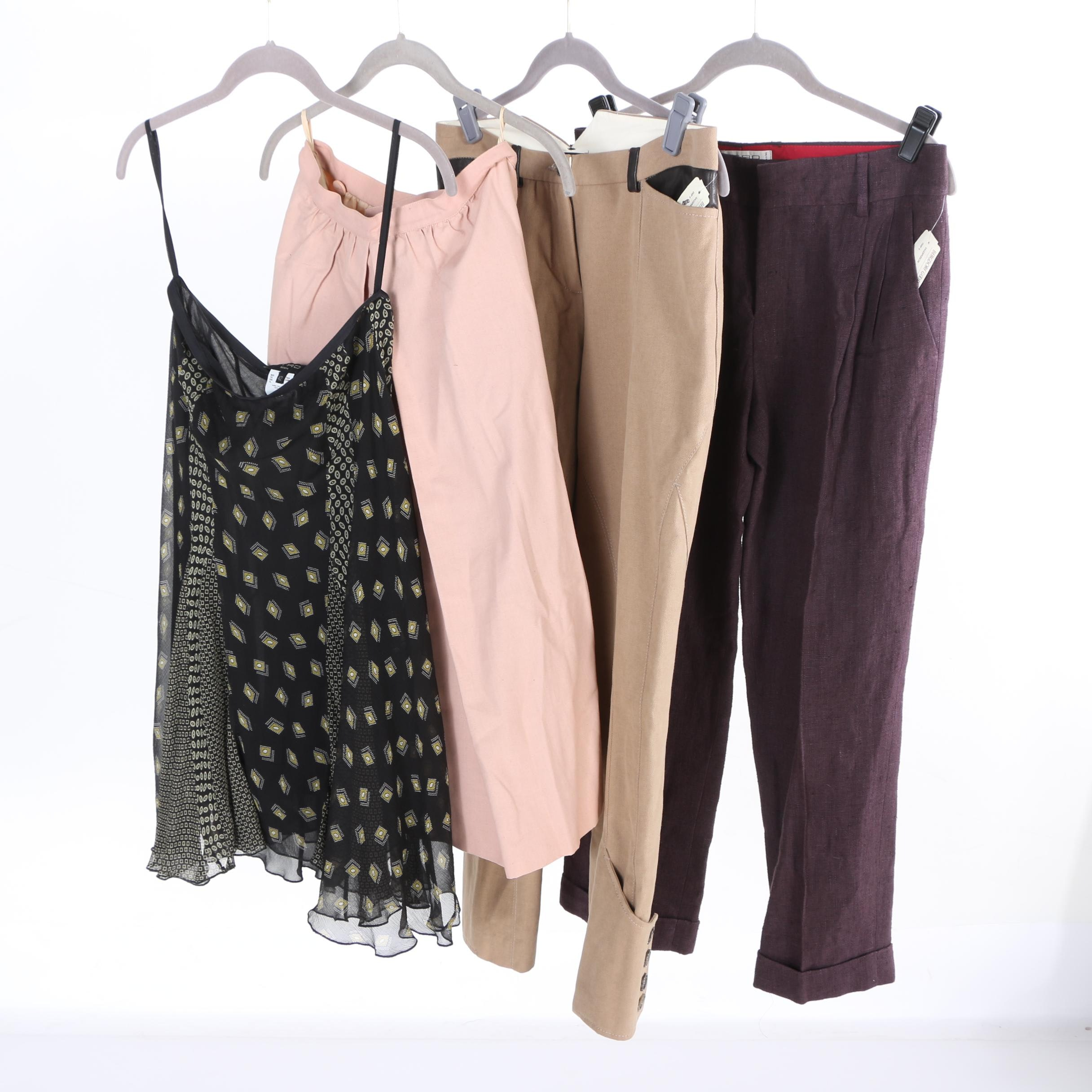 Women's Pants and Skirts Including Etro and Salvatore Ferragamo