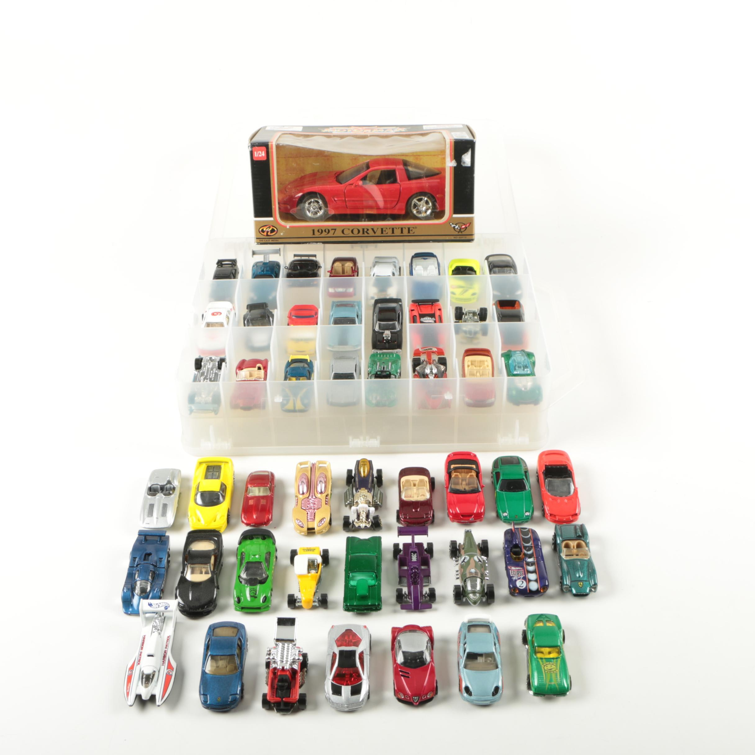 Assorted Die-Cast Cars Including Lesney
