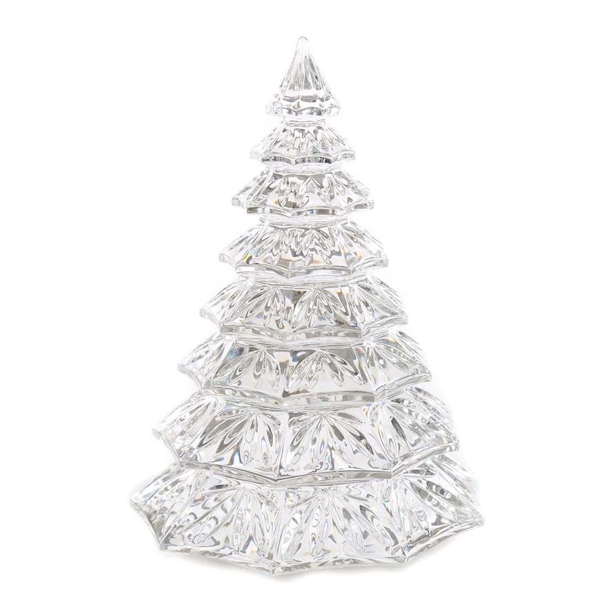 Waterford Crystal Christmas Tree : EBTH