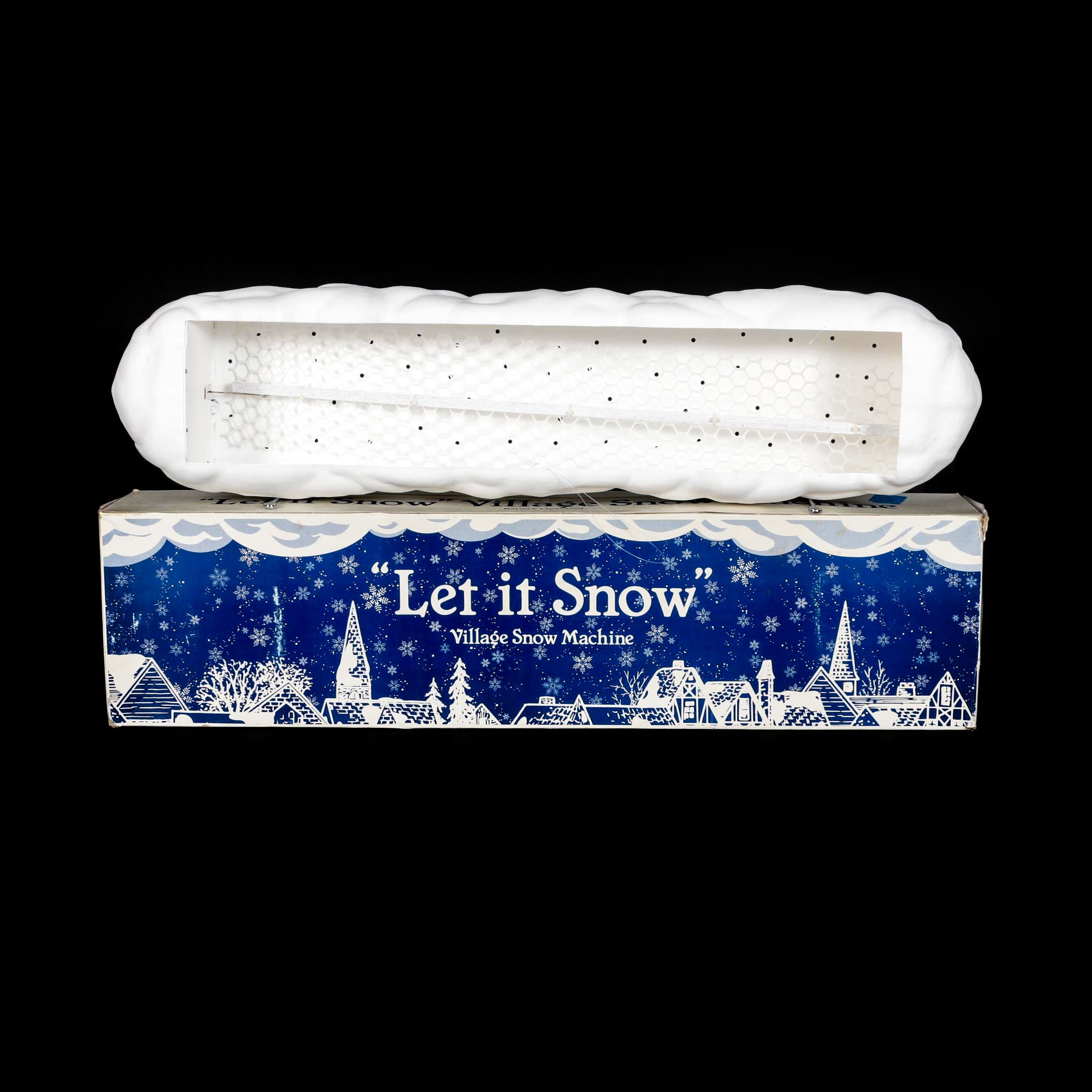 "Dept. 57 Village Snow Machine ""Let it Snow"""