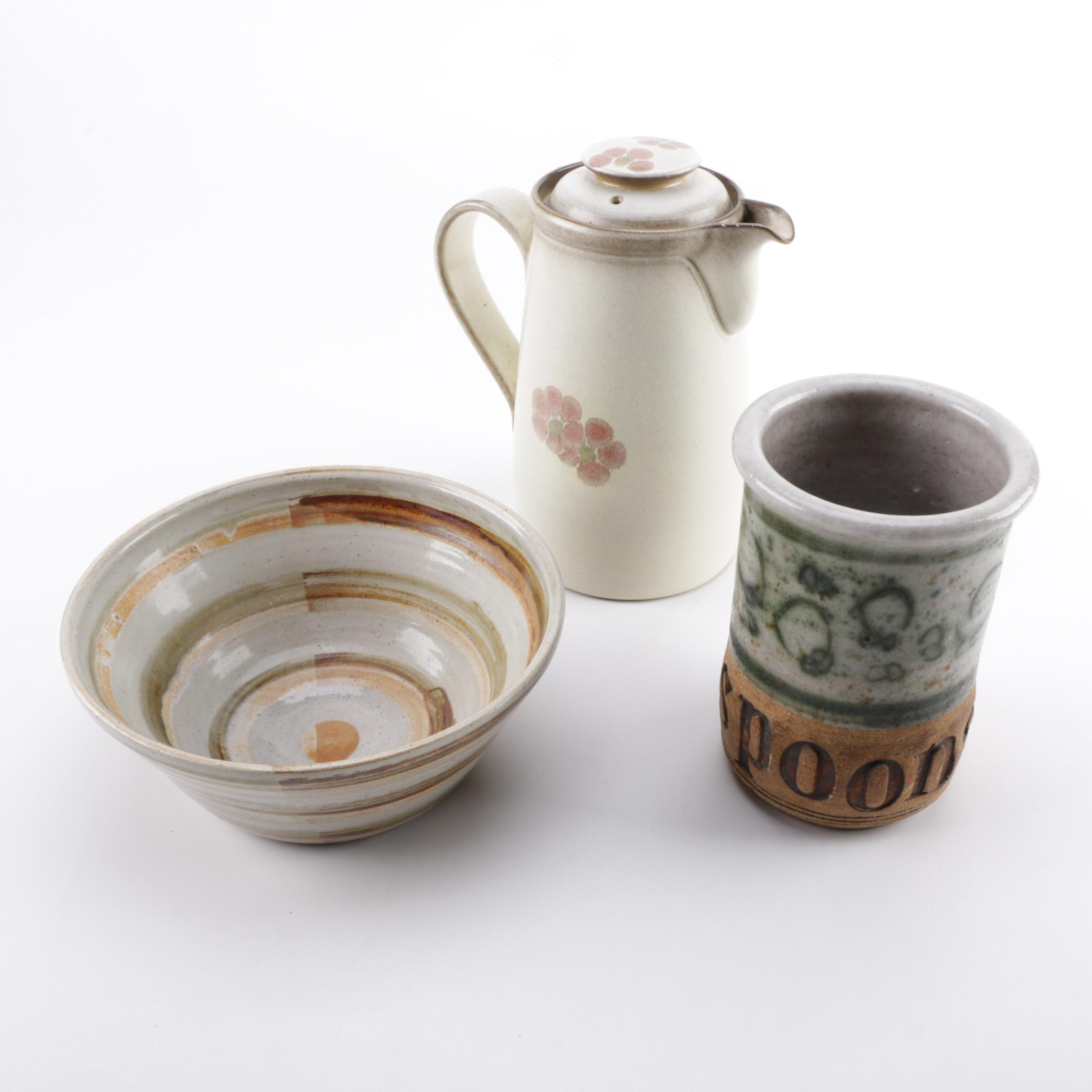 Vintage Denby Stoneware and Art Pottery