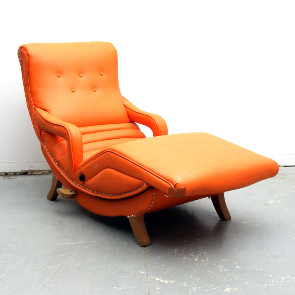 mid century recliner. Mid Century Modern Massage Recliner By The Contour Chair Co. A