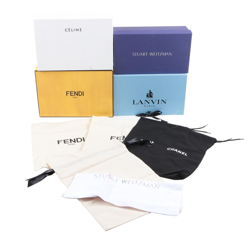 3e0f6e2574b3 Designer Gift Boxes and Drawstring Dust Bags : EBTH