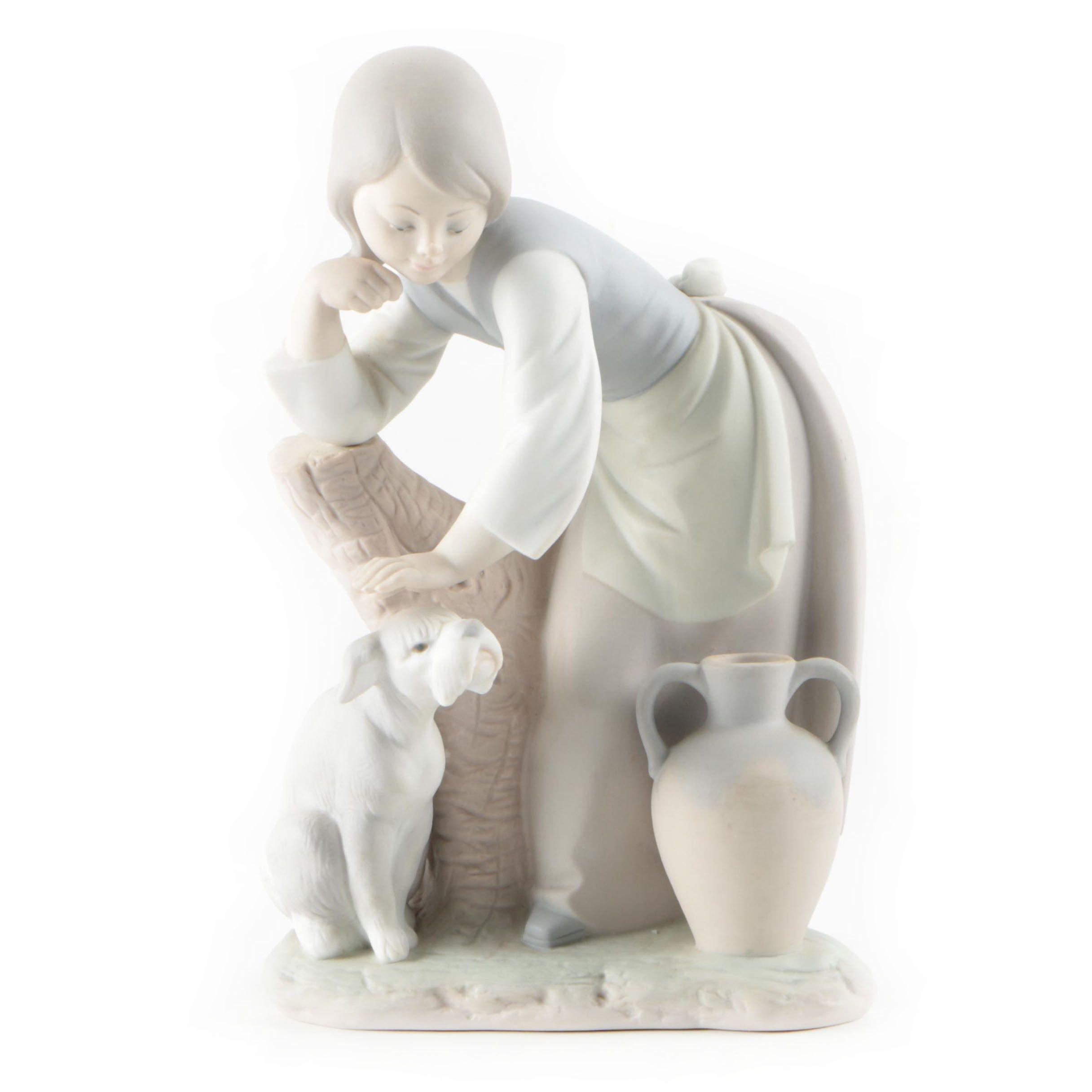 "Lladró ""Caress and Rest"" Figurine"