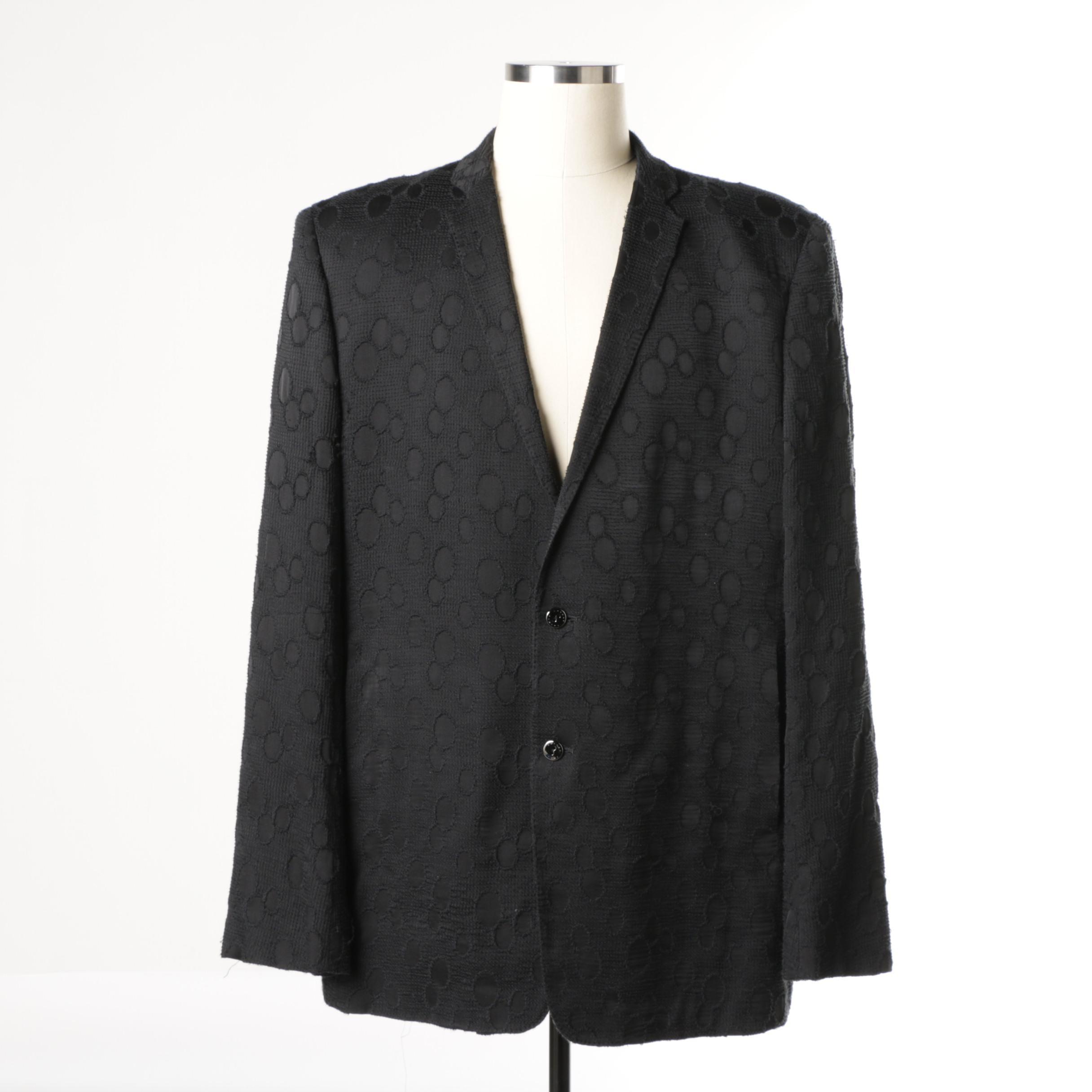 Men's Rynshu Silk Suit Jacket