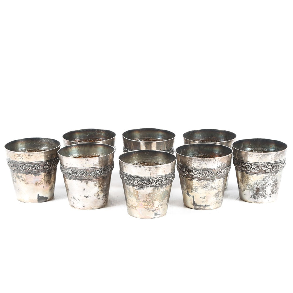 Sanborns Mexico Sterling Silver Cups