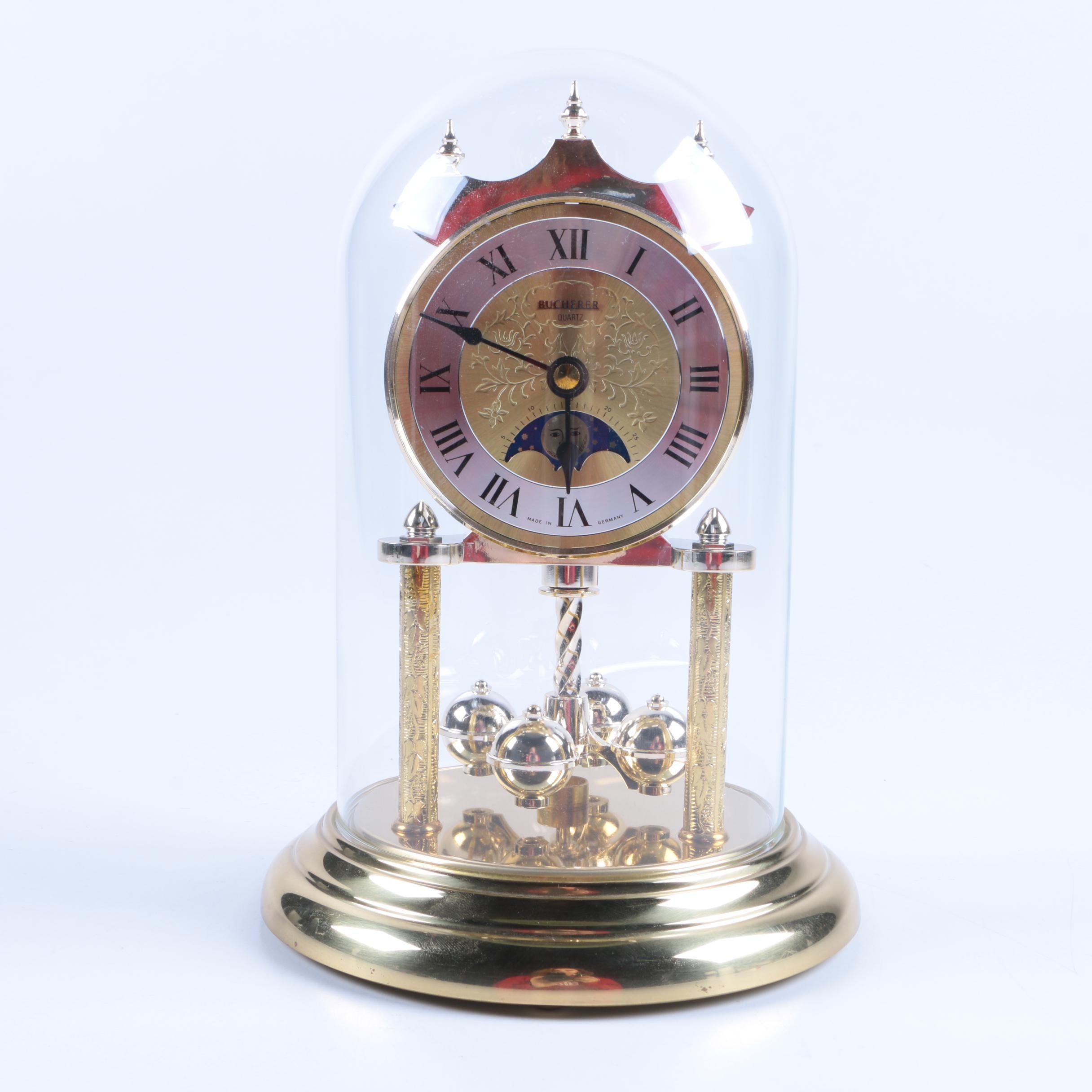 Bucherer Quartz Anniversary Clock