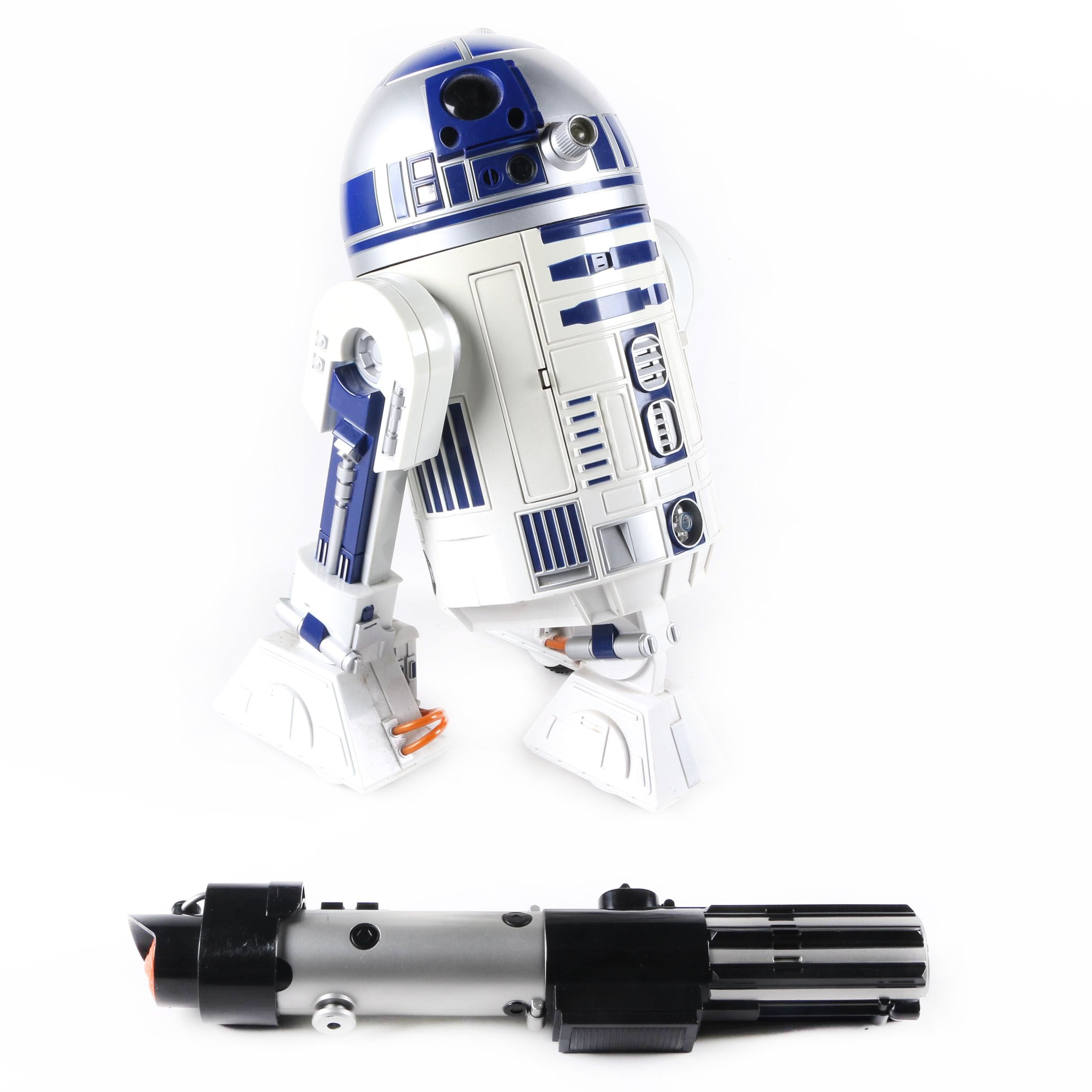 Remote Controlled R2-D2 and Darth Vader's Lightsaber Toys