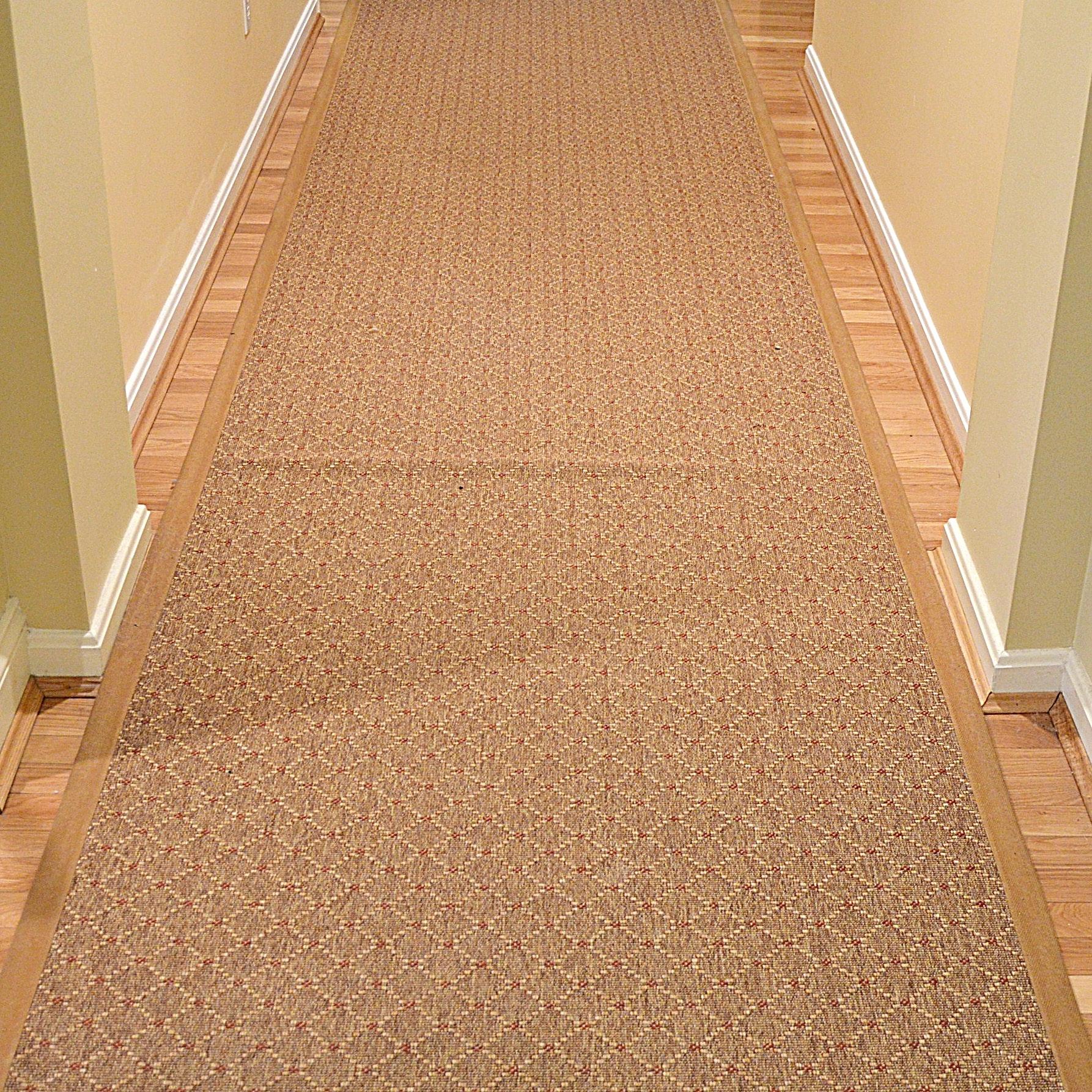 Extra Long Machine-Loomed Carpet Runner