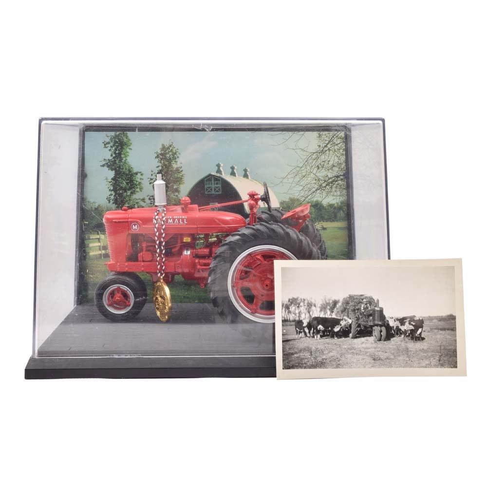 Die-Cast Model Farmall Model-M Tractor