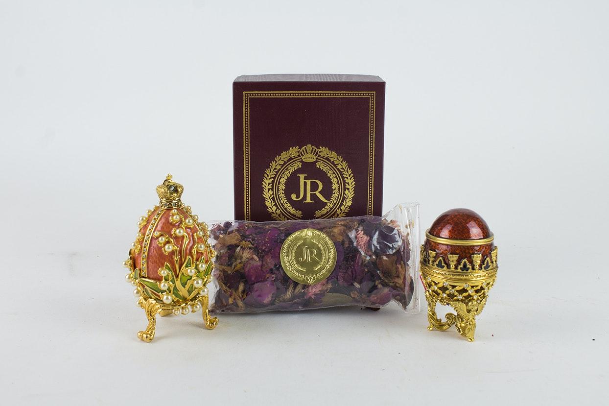 "Joan Rivers ""Imperial Treasures"" Four Seasons Eggs"
