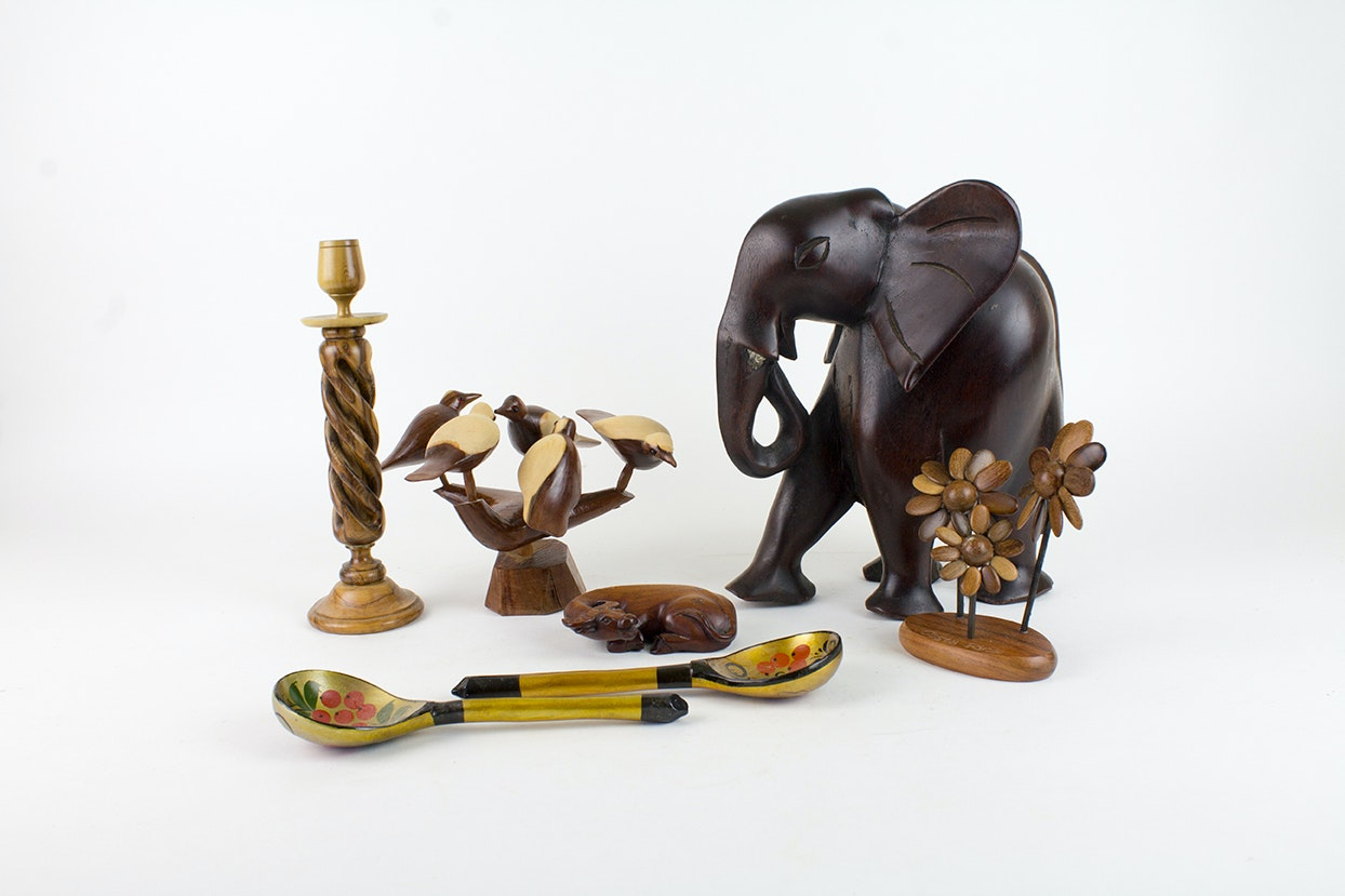 Carved Wooden Sculptures