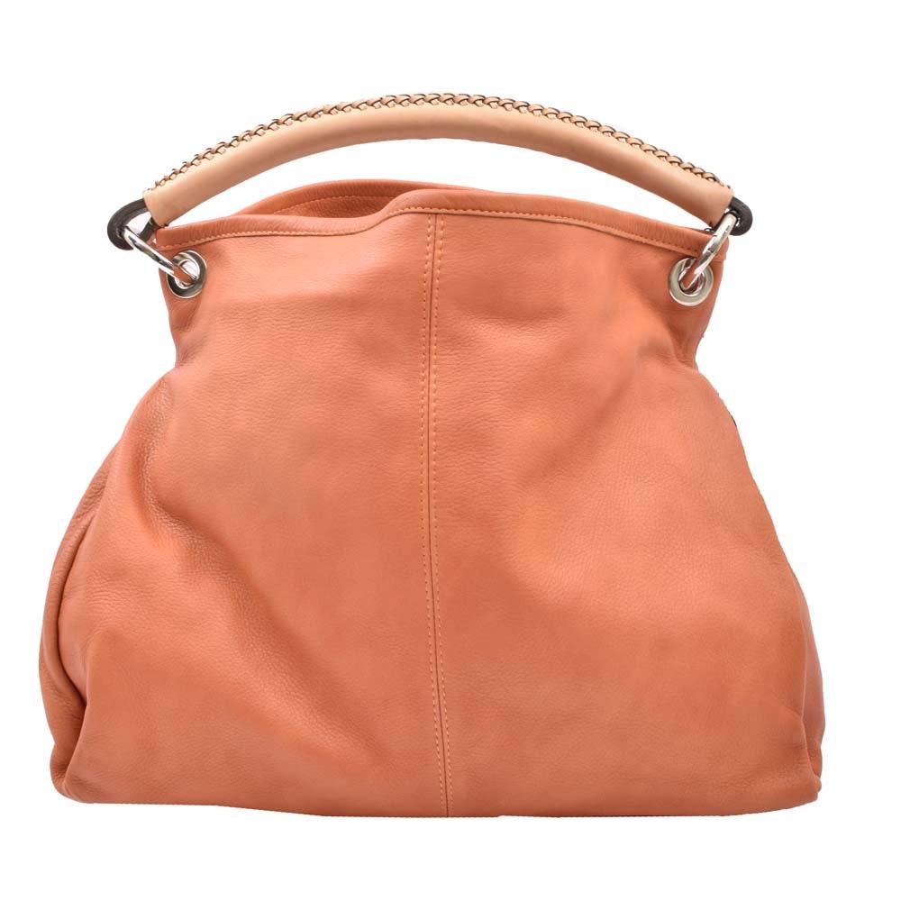 Leonardo Firenze Leather Handbag