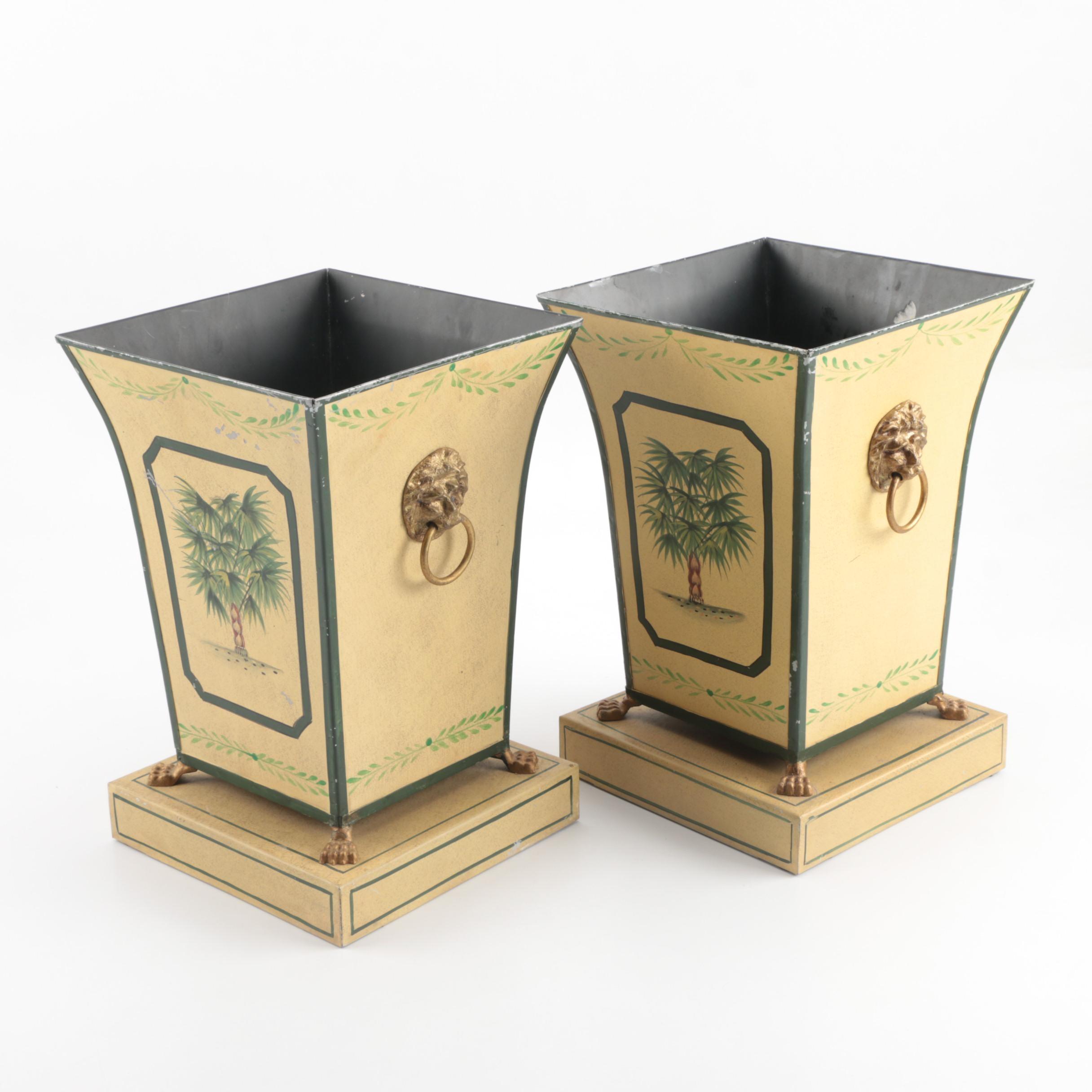 Decorative Metal Planters