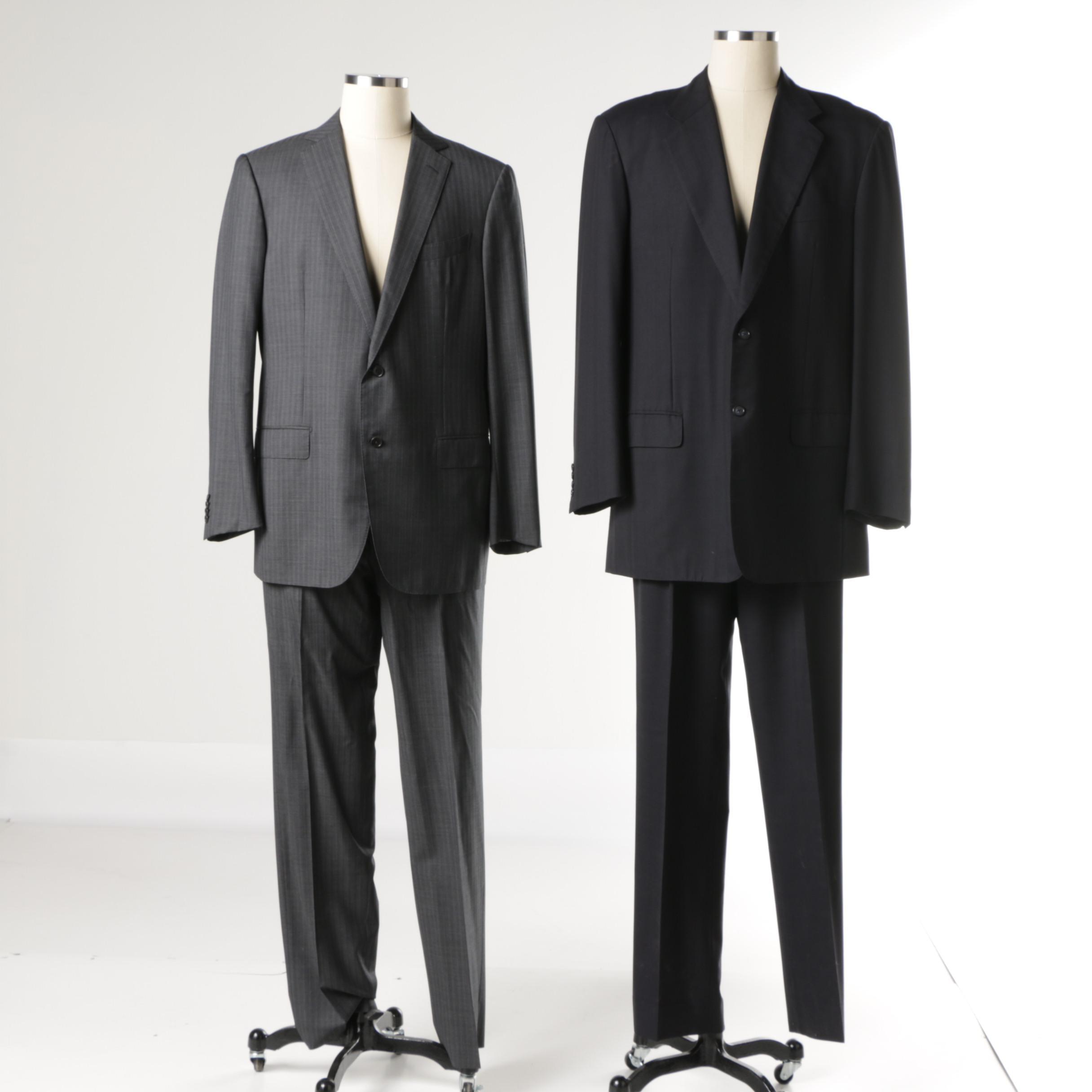 Men's Ermenegildo Zegna and B. Clemo Exclusive Tailor Ltd Suits