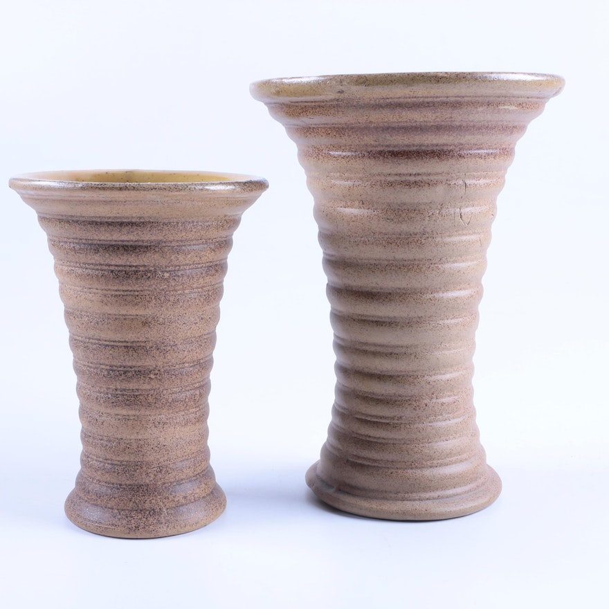 Red Wing Pottery Vases Ebth