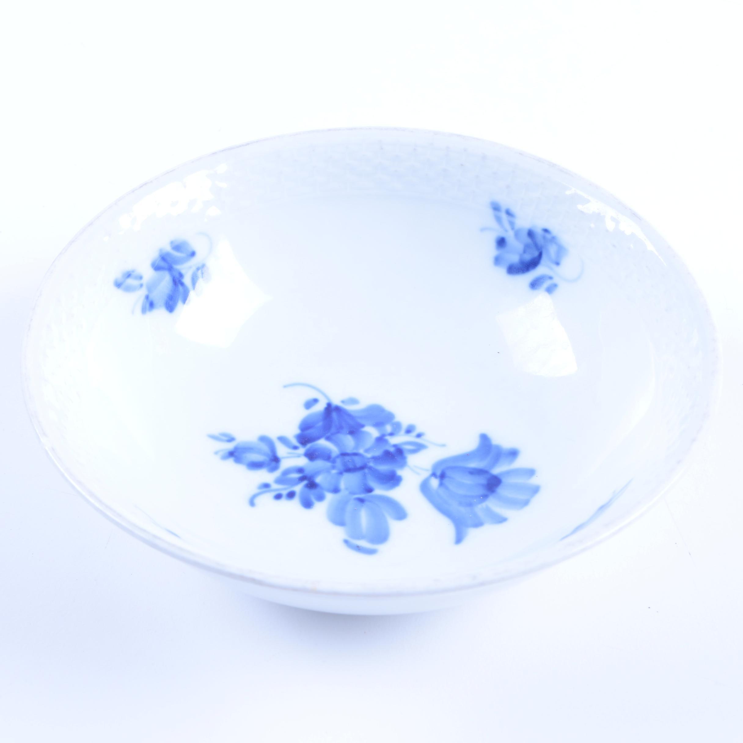 "Royal Copenhagen ""Blue Flowers Braided"" Bowl"