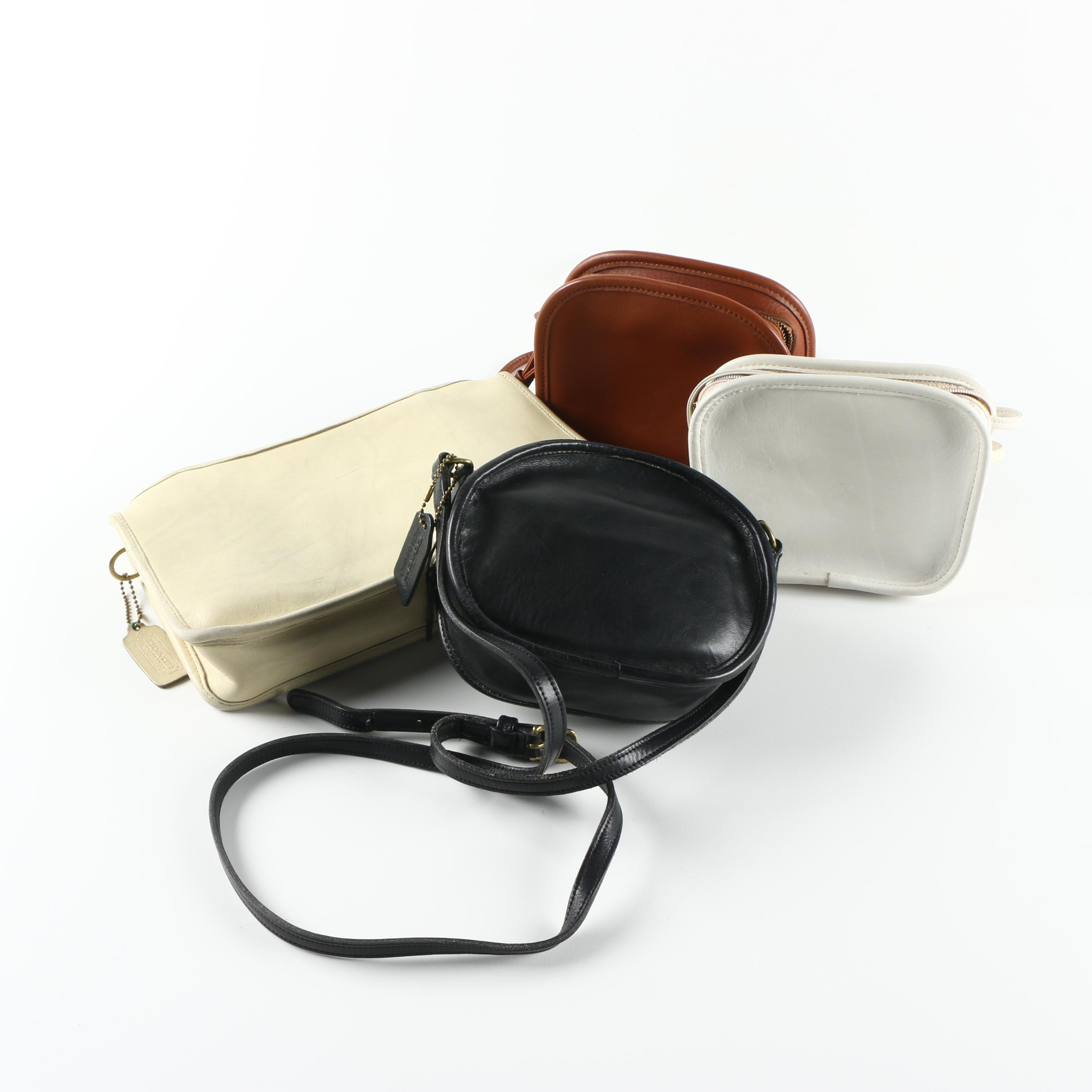 Collection of Vintage Coach Handbags