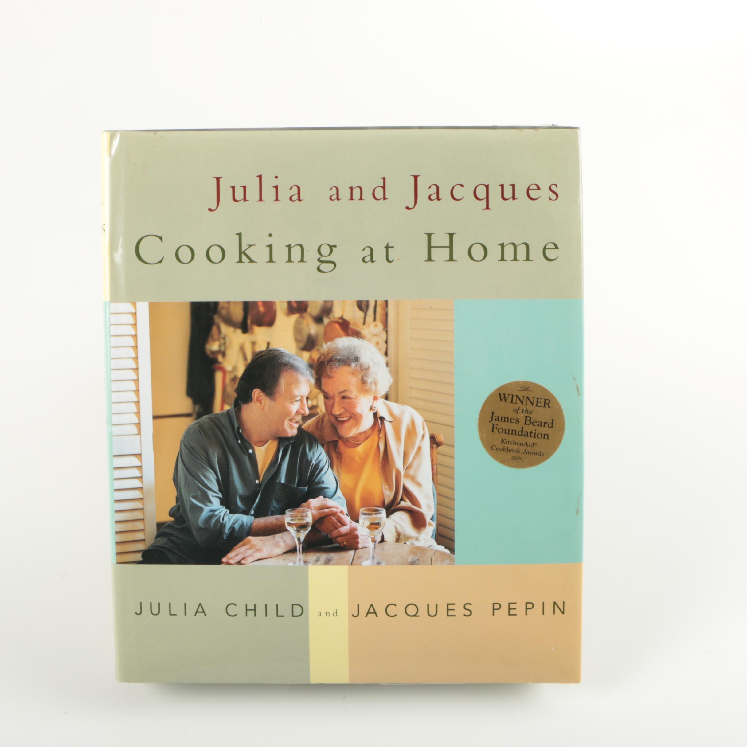 Signed Julia Child Cookbook