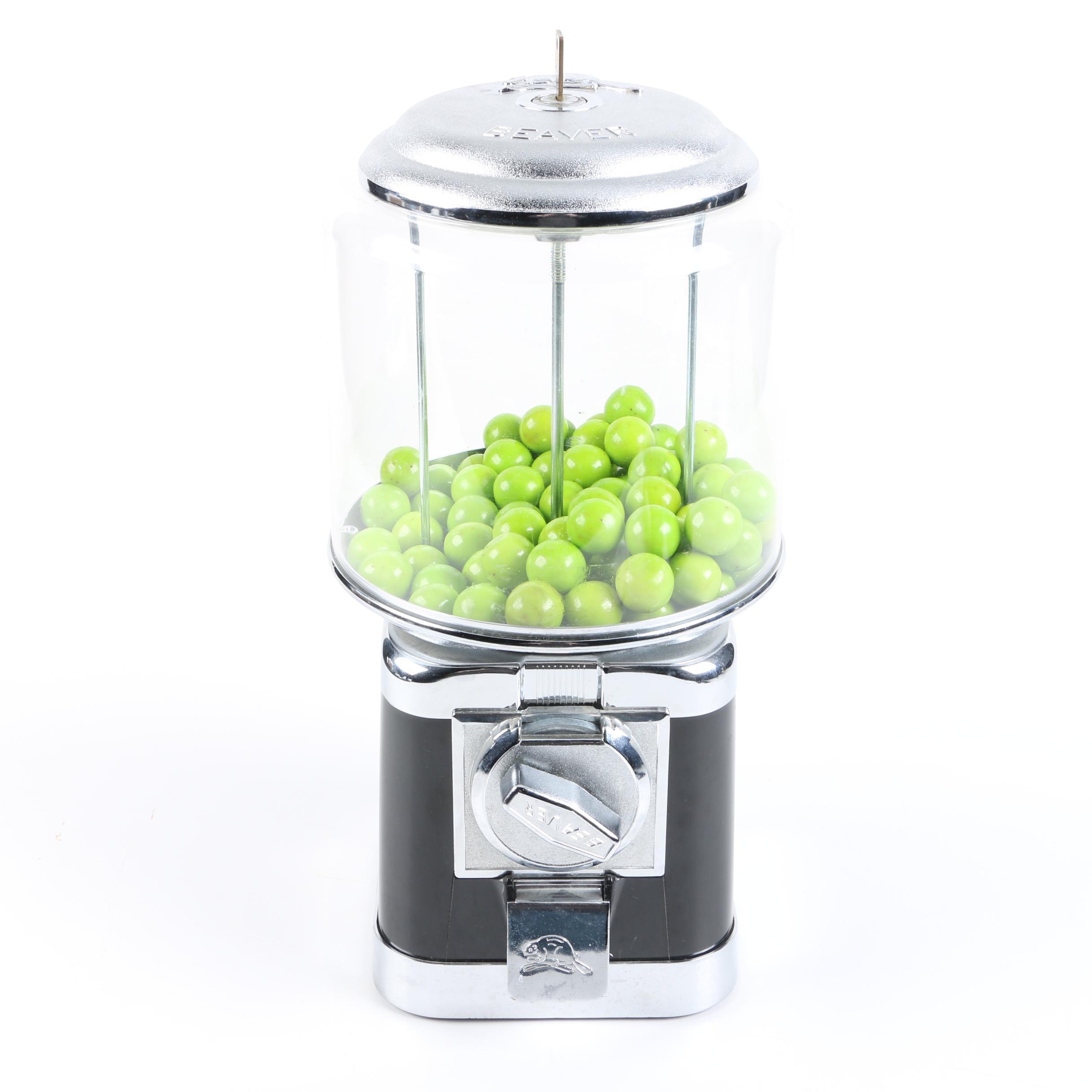 Beaver Gum Ball Machine