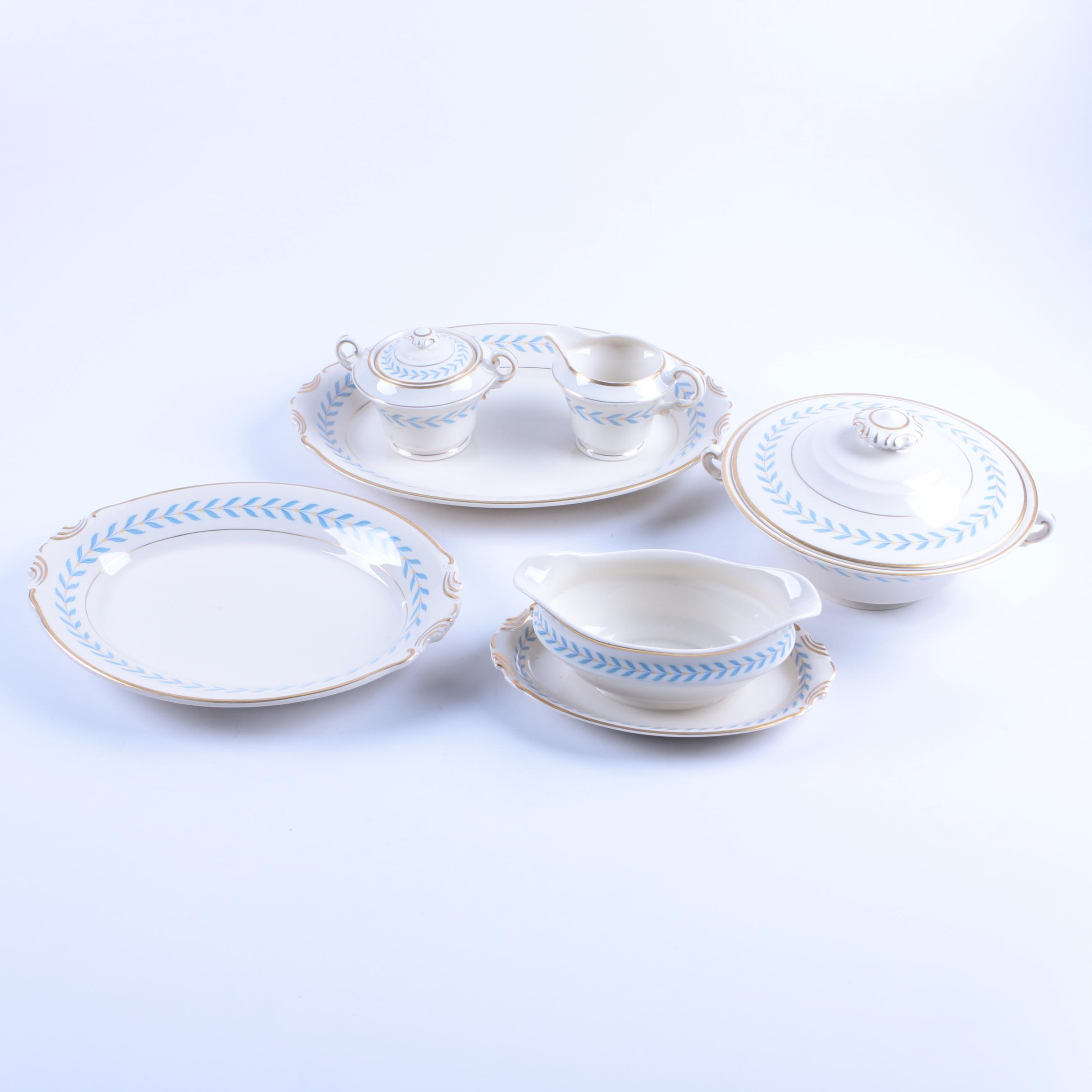 """1946-67 Syracuse """"Sherwood"""" Porcelain Serveware"""