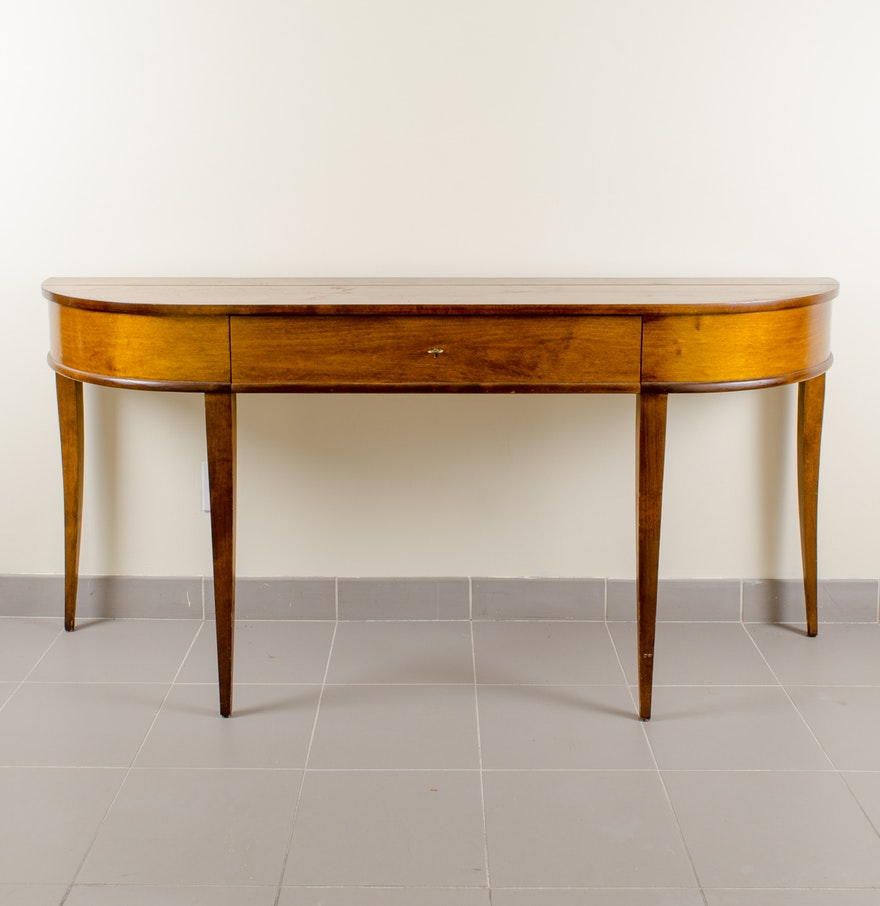 Maple console table ebth maple console table geotapseo Image collections