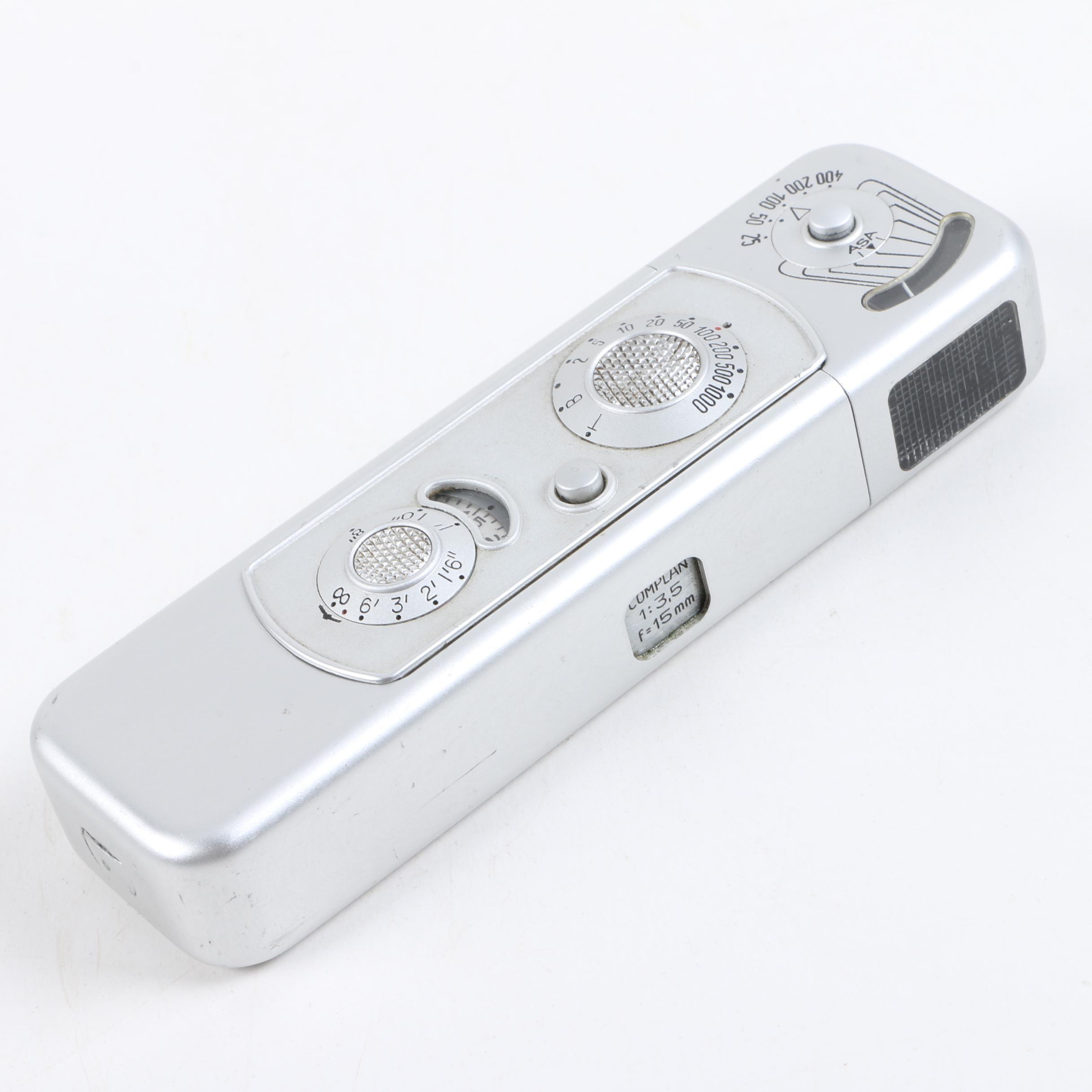 Minox B Complan Subminiature Spy Camera
